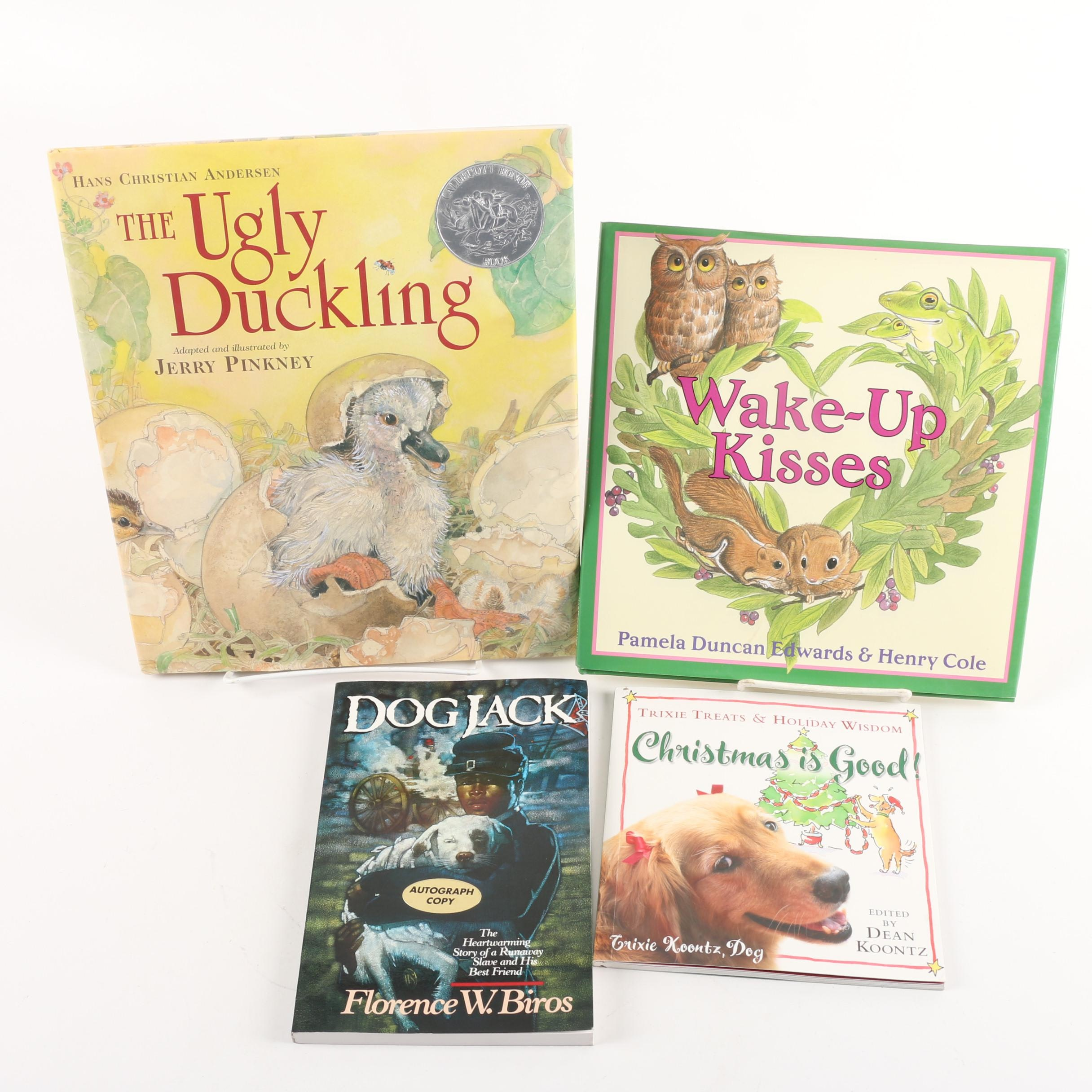 "Signed ""The Ugly Duckling"" and Other Children's Books"