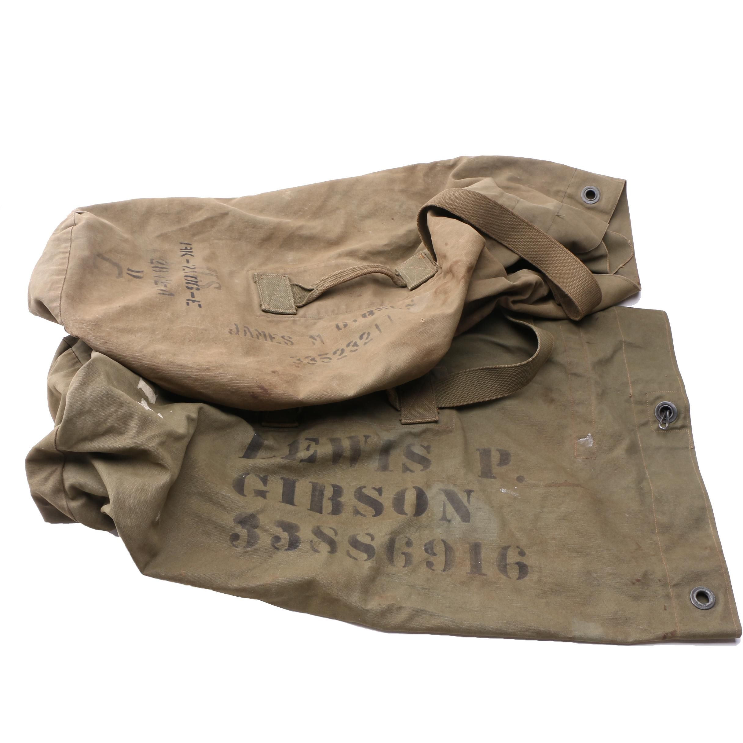 U.S. Military Duffel Bags