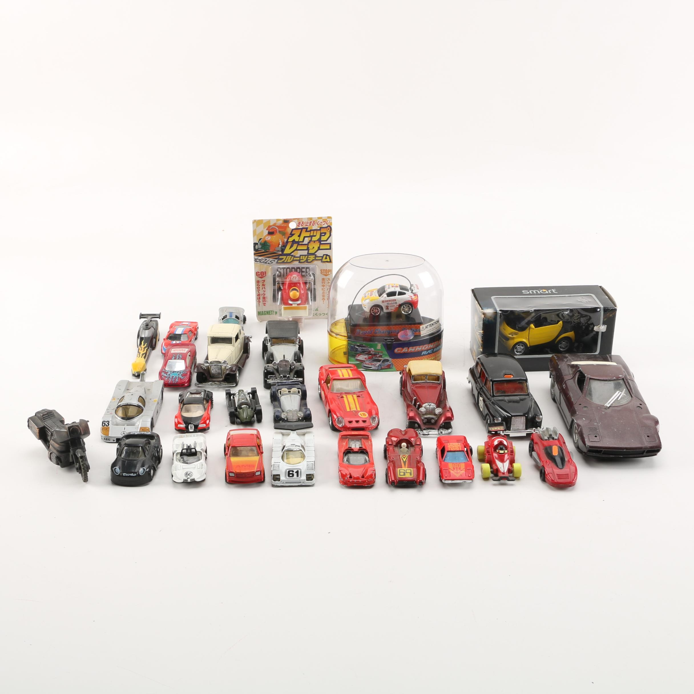 Die-Cast and Plastic Cars including Maisto