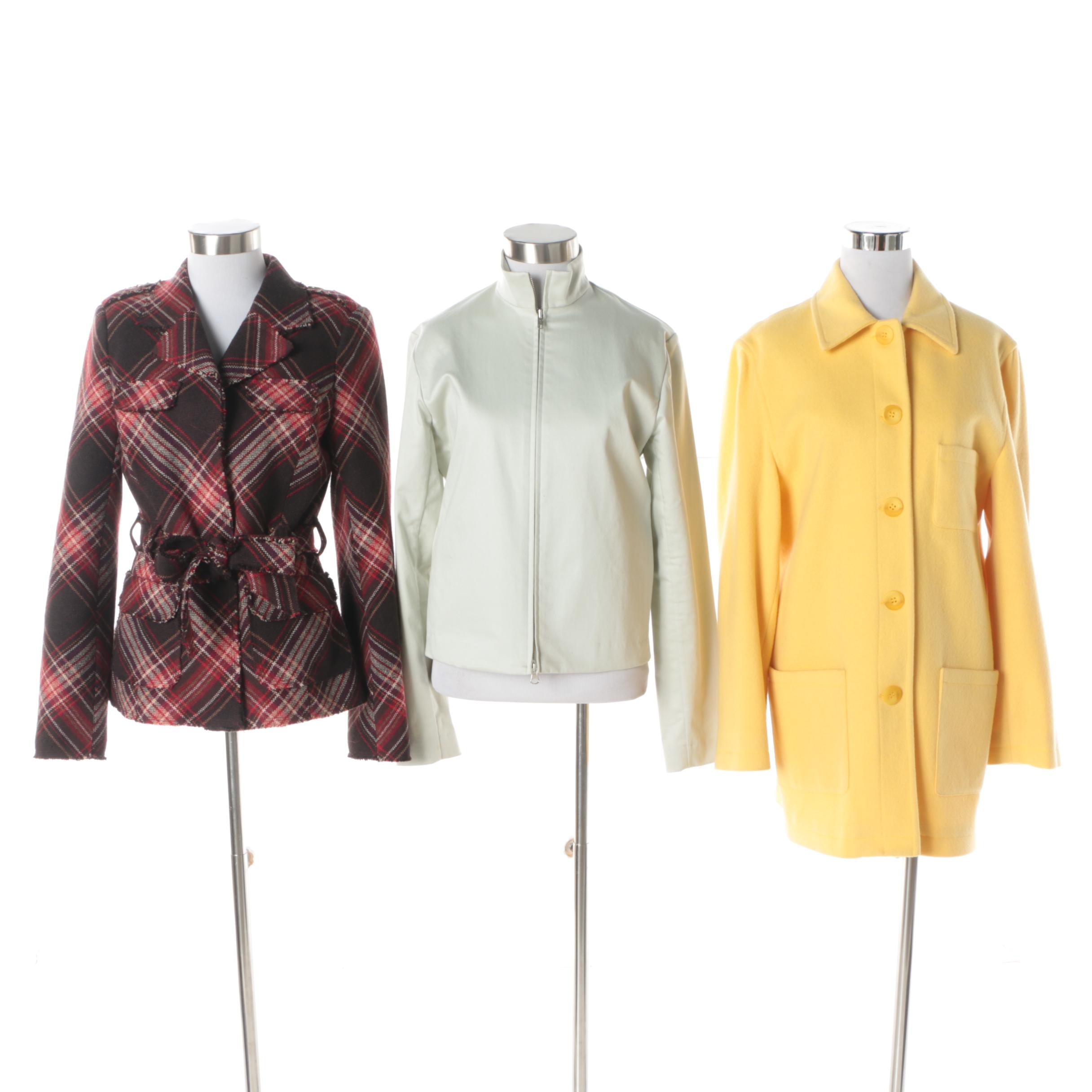 Women's Neiman Marcus, Fillmore and Isda & Co. Jackets