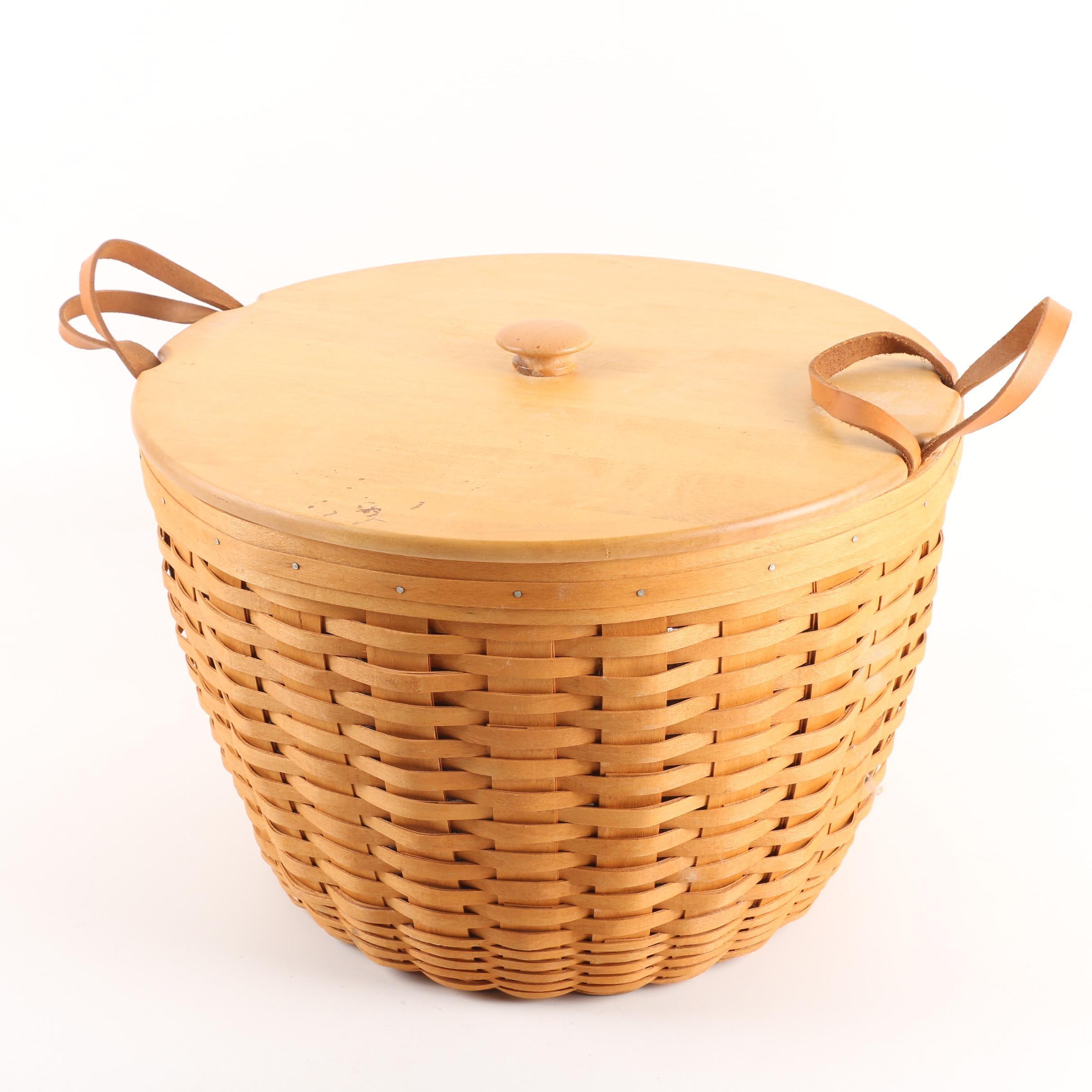 "1996 Longaberger ""Corn Basket"" with Protector"