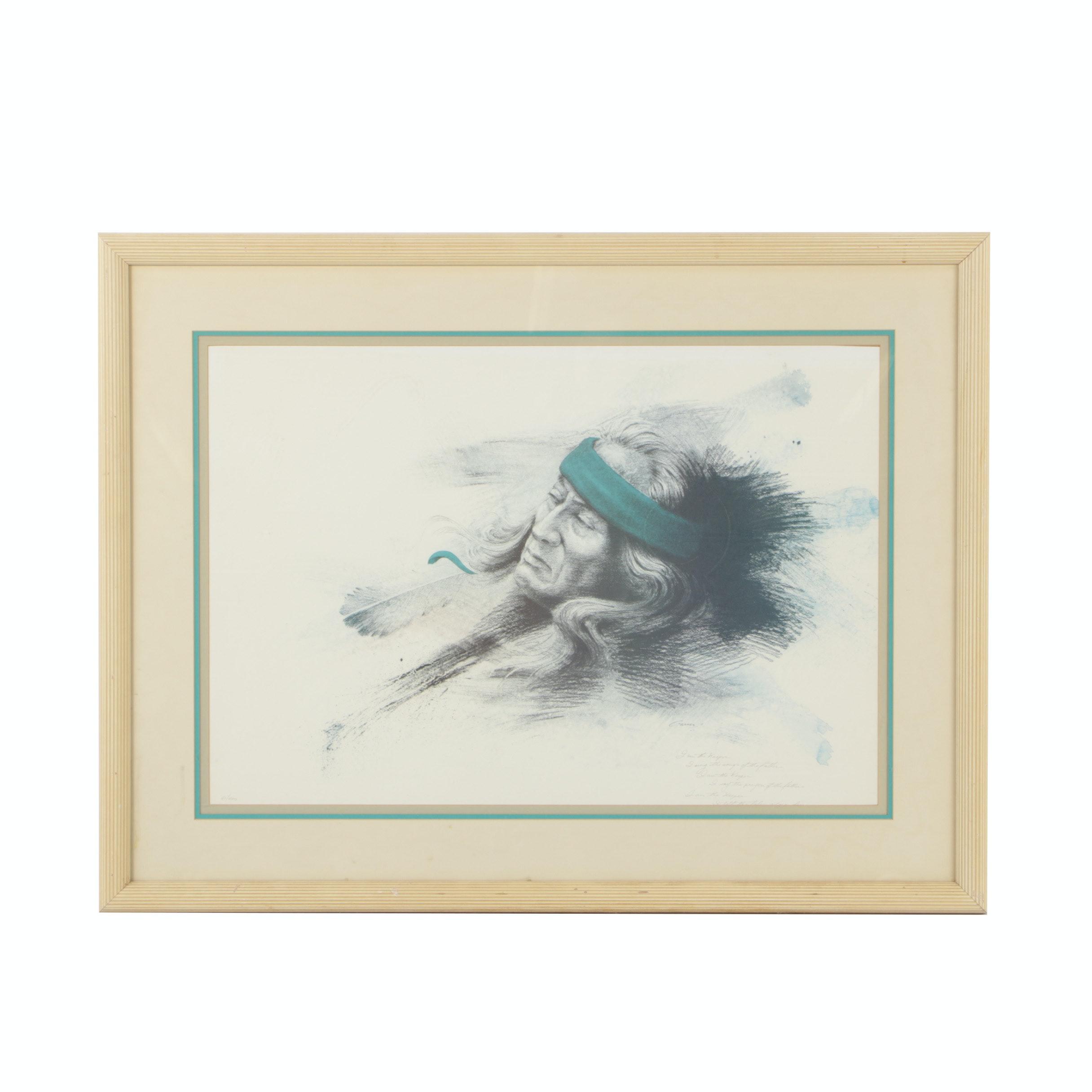 Robert Garner Limited Edition Offset Lithograph