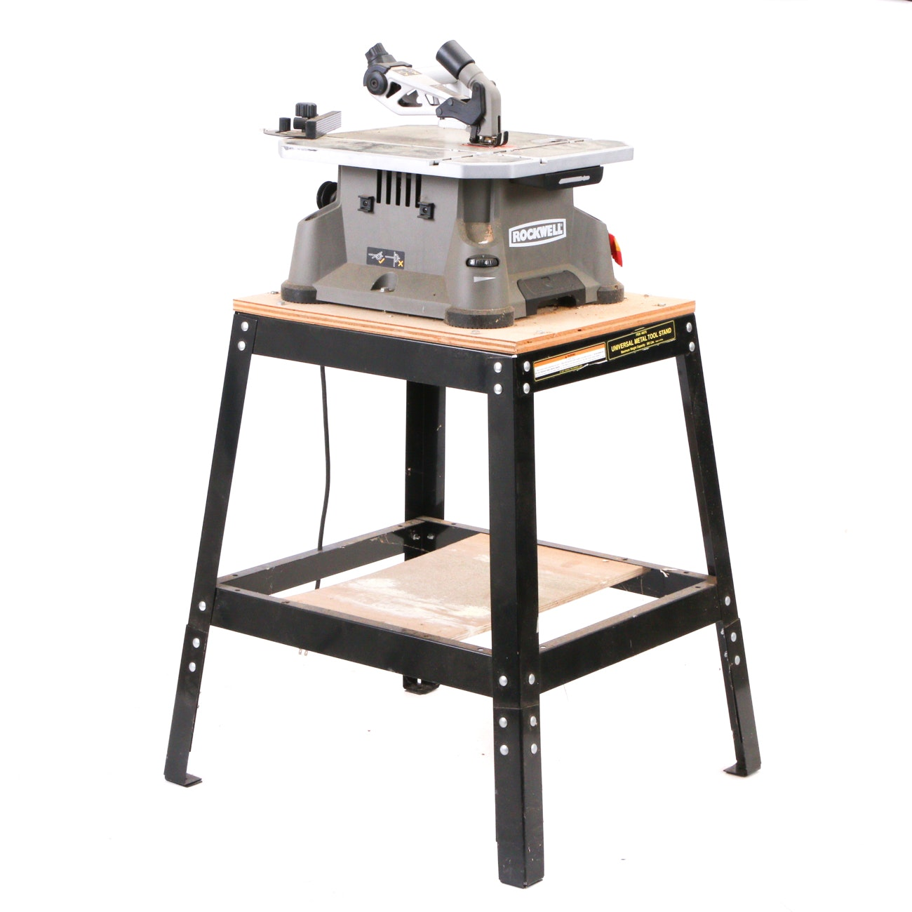 """Rockwell """"BladeRunner"""" Portable Table Saw with Stand"""