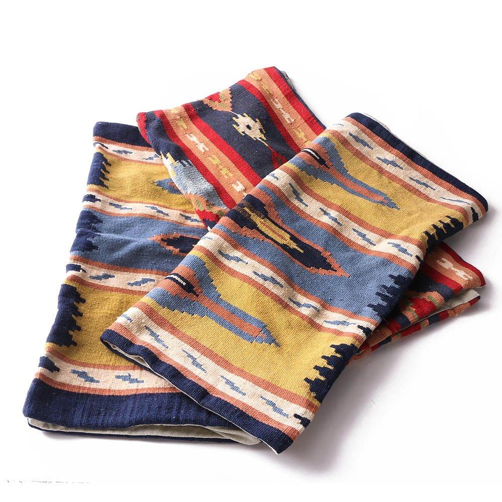 Anatolian Style Kilim Euro Sham Pillow Covers