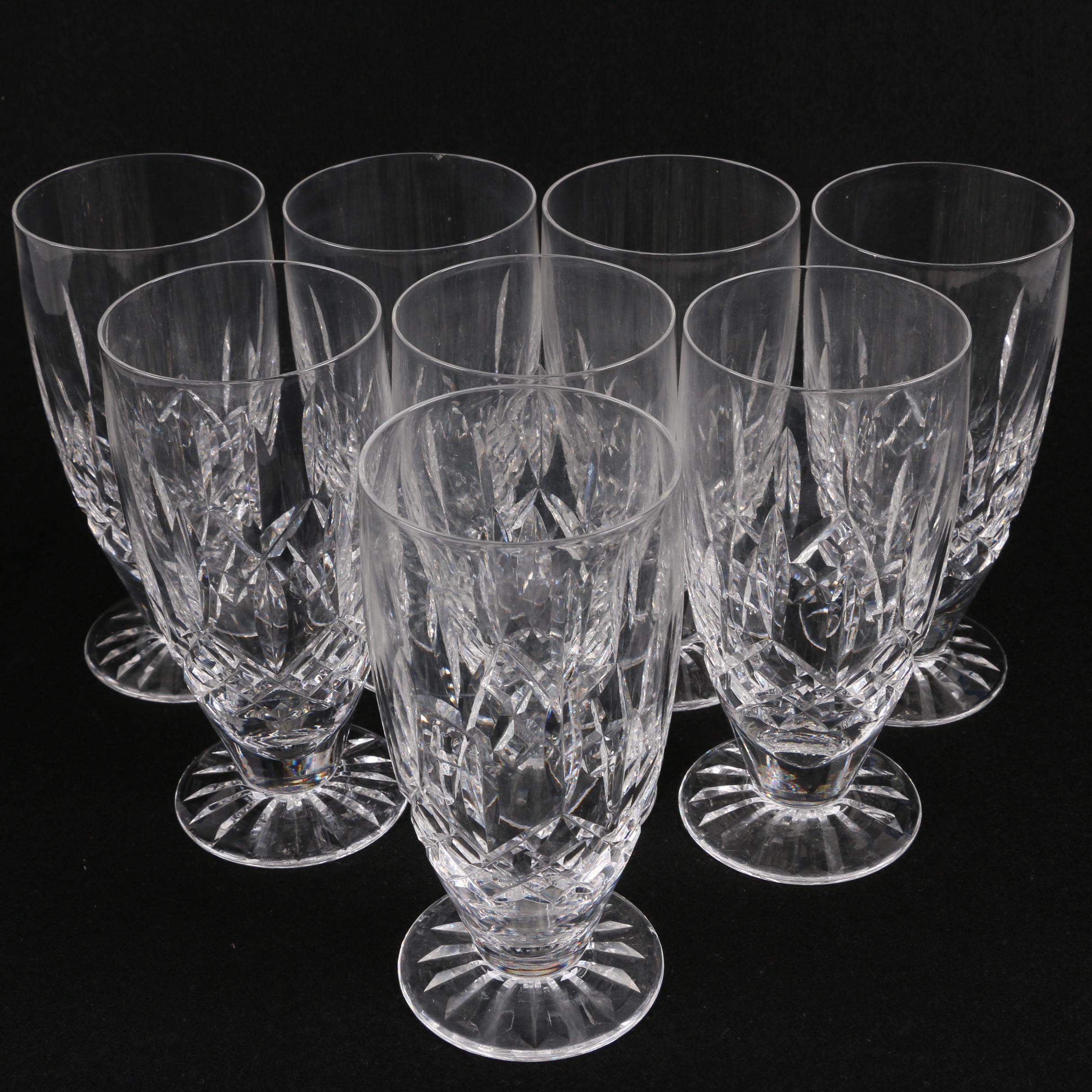 "Waterford Crystal ""Lismore"" Iced Tea Glasses"