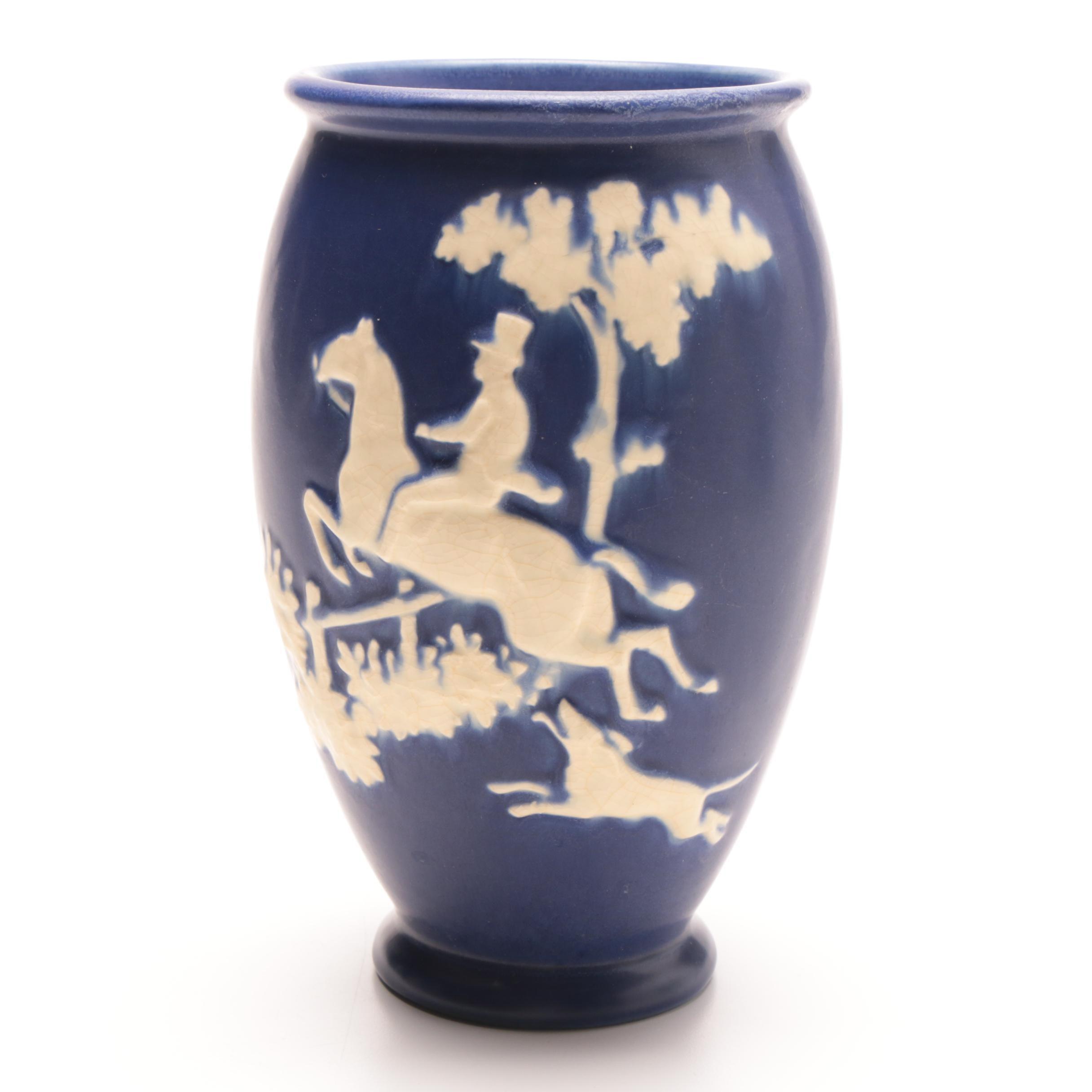 "Weller Pottery ""Chase"" Vase"