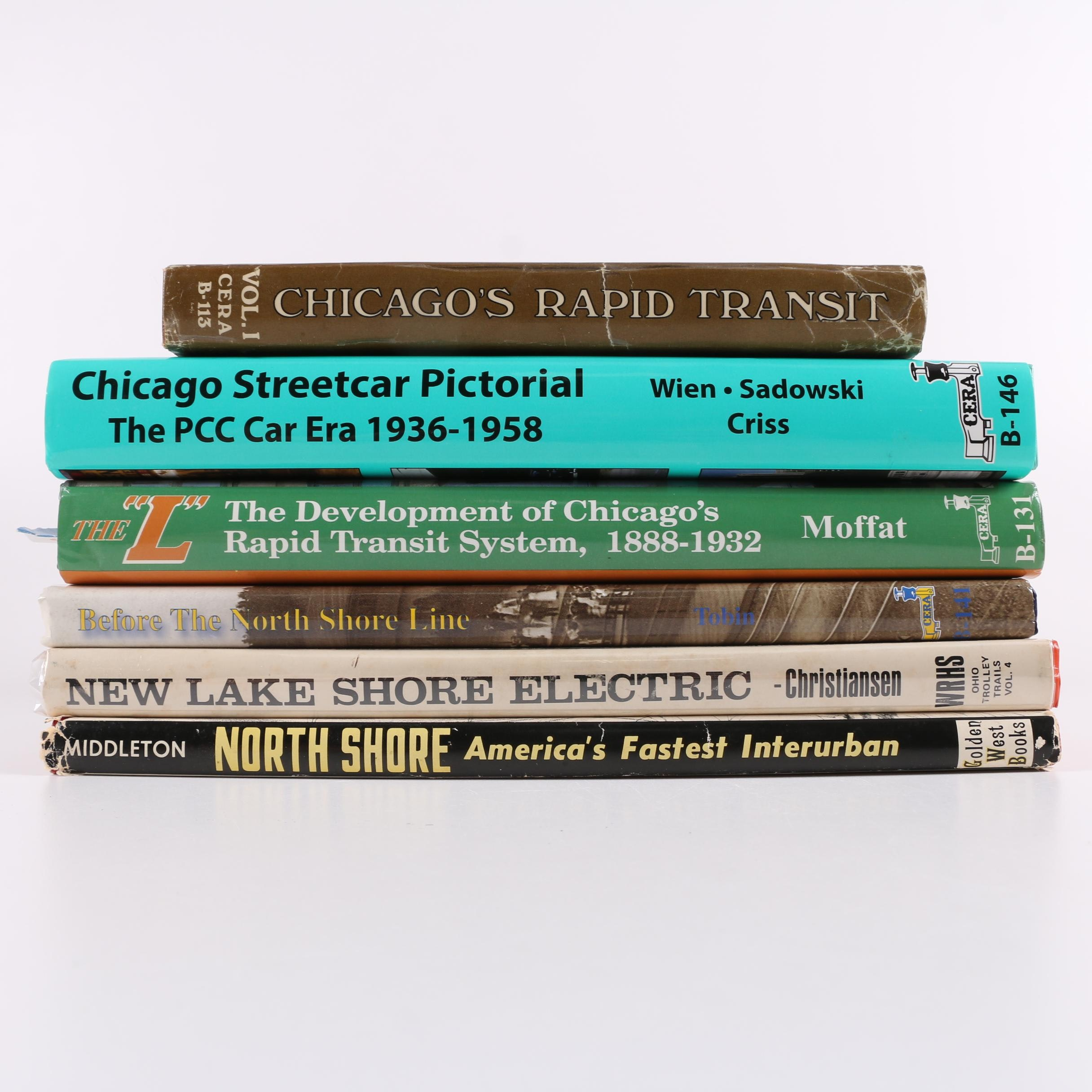 Books on Chicagoan Streetcars