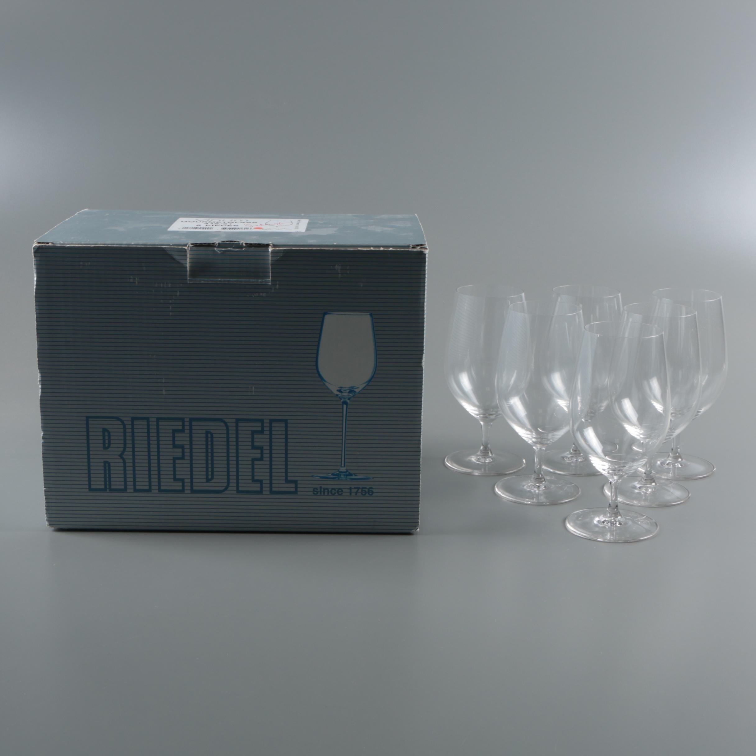 "Riedel ""Vinum"" Gourmet Glasses"