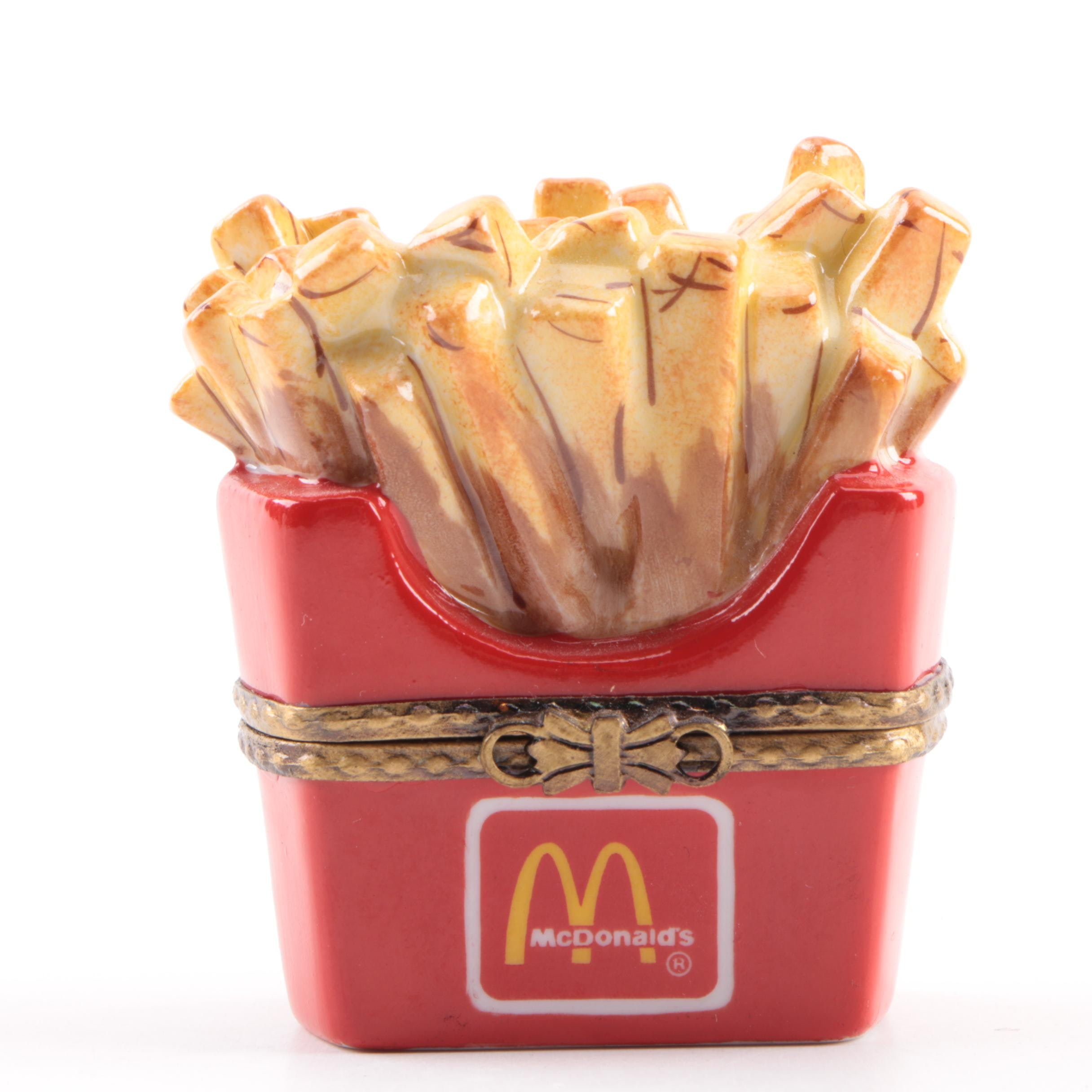 Limoges McDonald's Porcelain Trinket Box