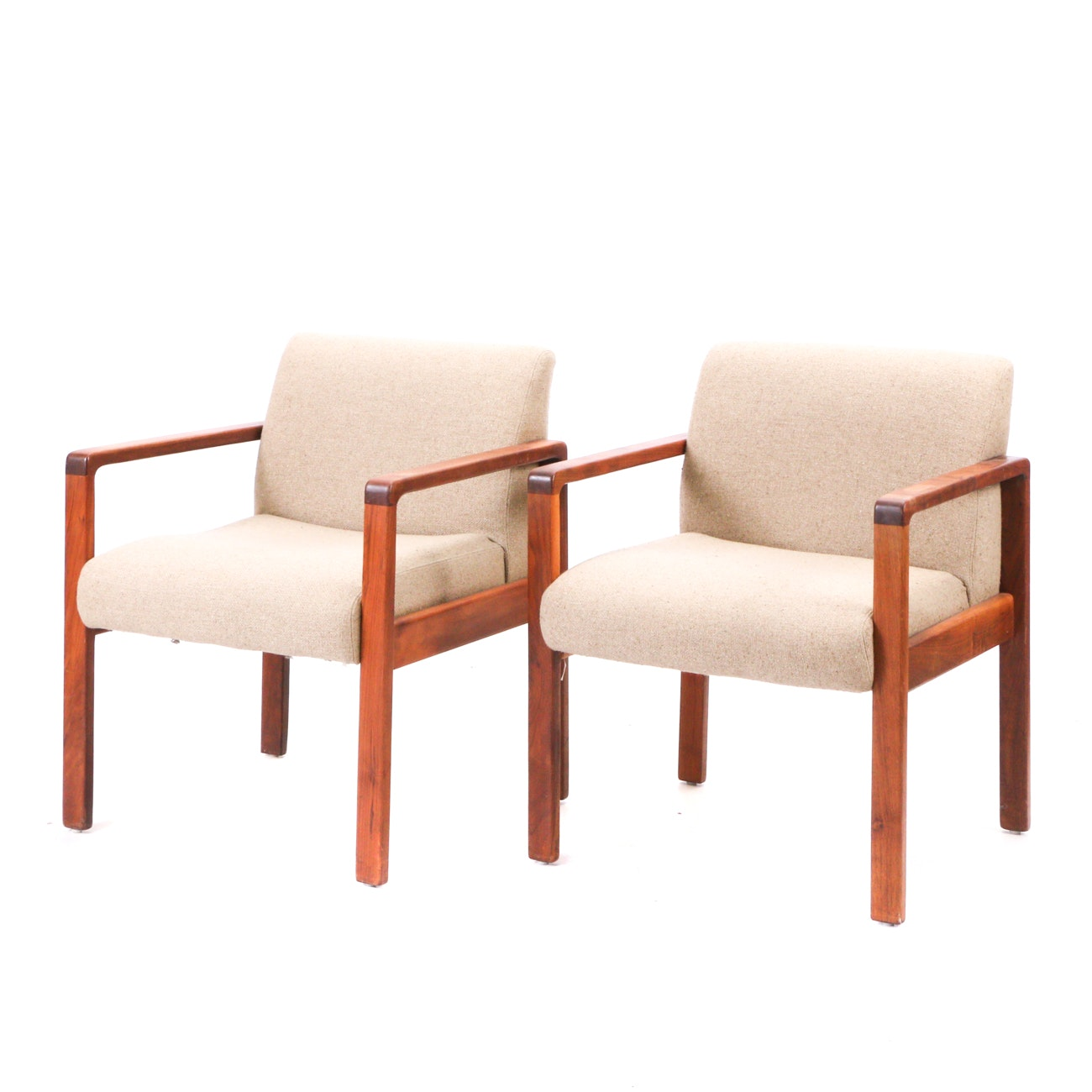 Pair of Mid Century Modern Armchairs