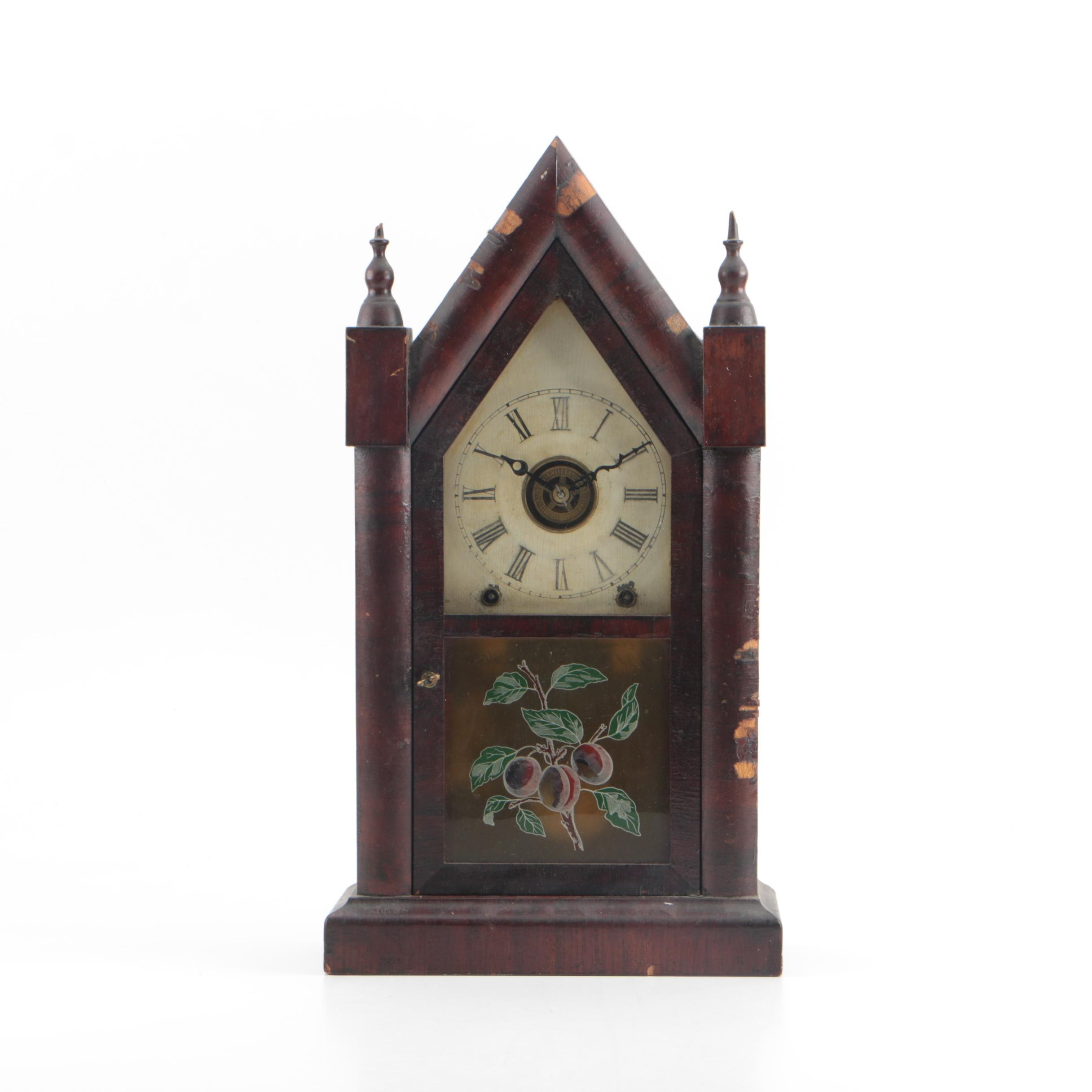 19th Century Ansonia Steeple Clock