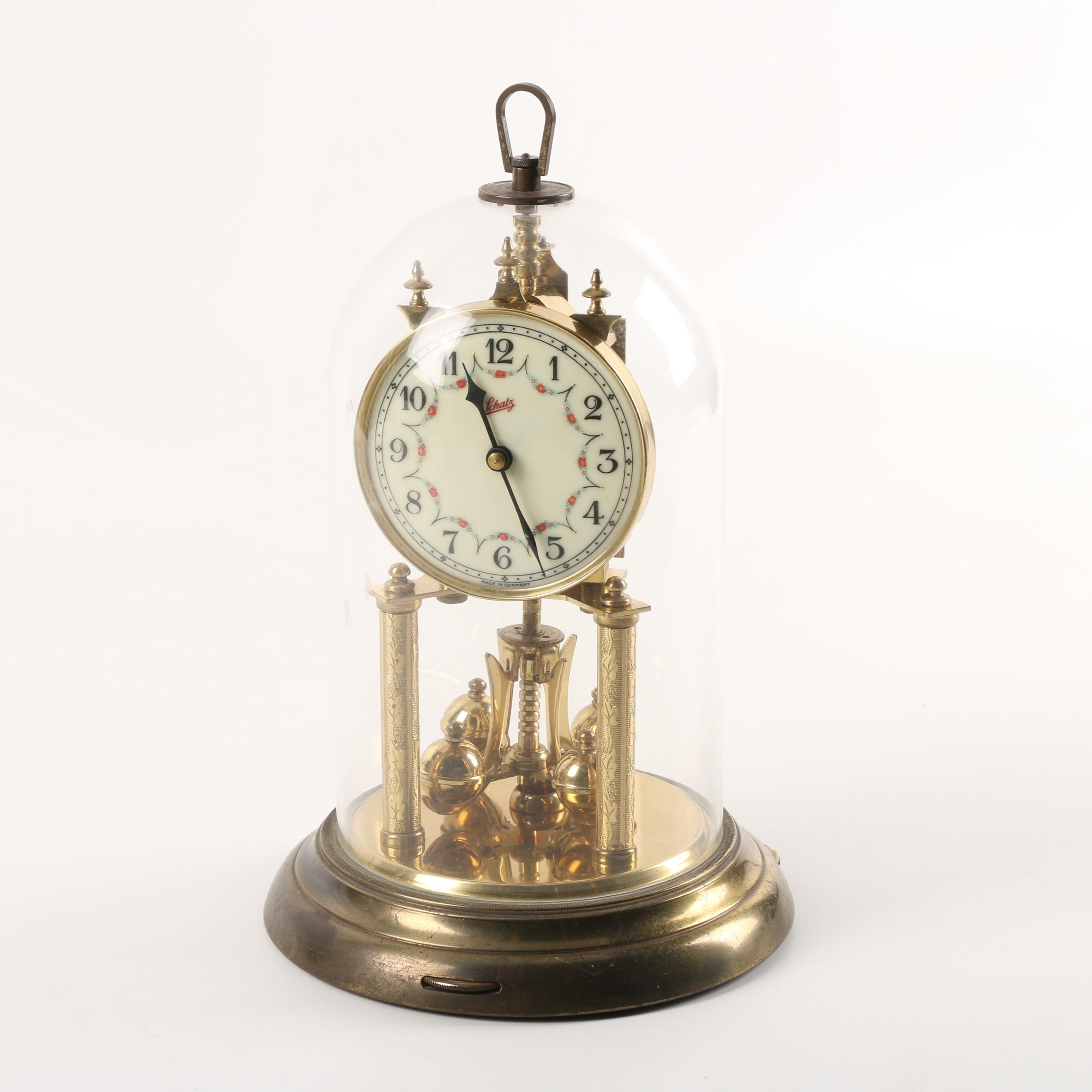Schatz German Anniversary Clock