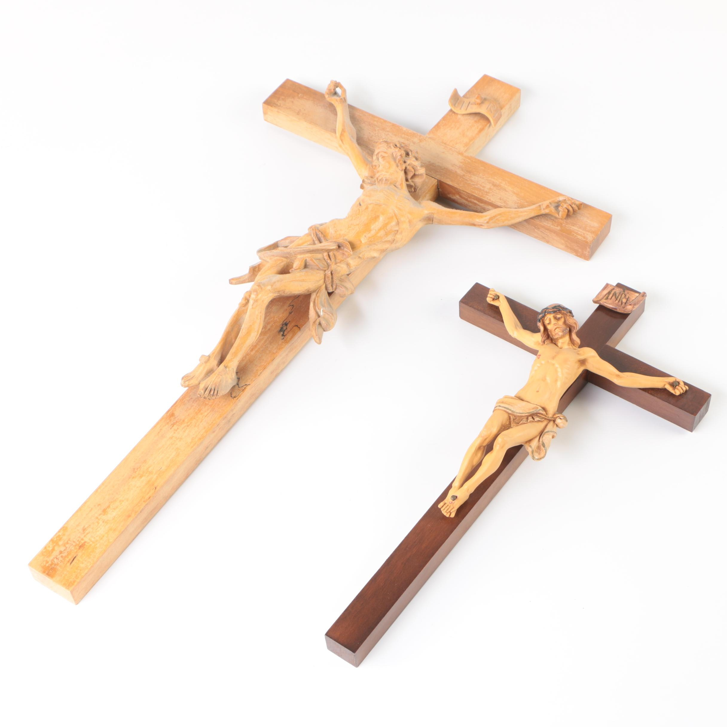 Wooden Wall Hanging Crucifixes