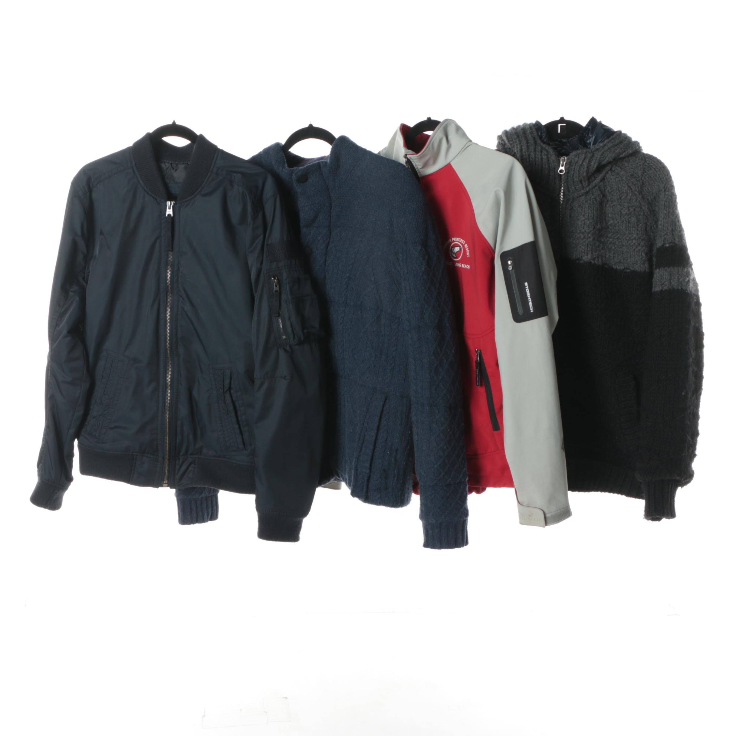 Men's Jackets Including Abercrombie & Fitch and Scotch & Soda