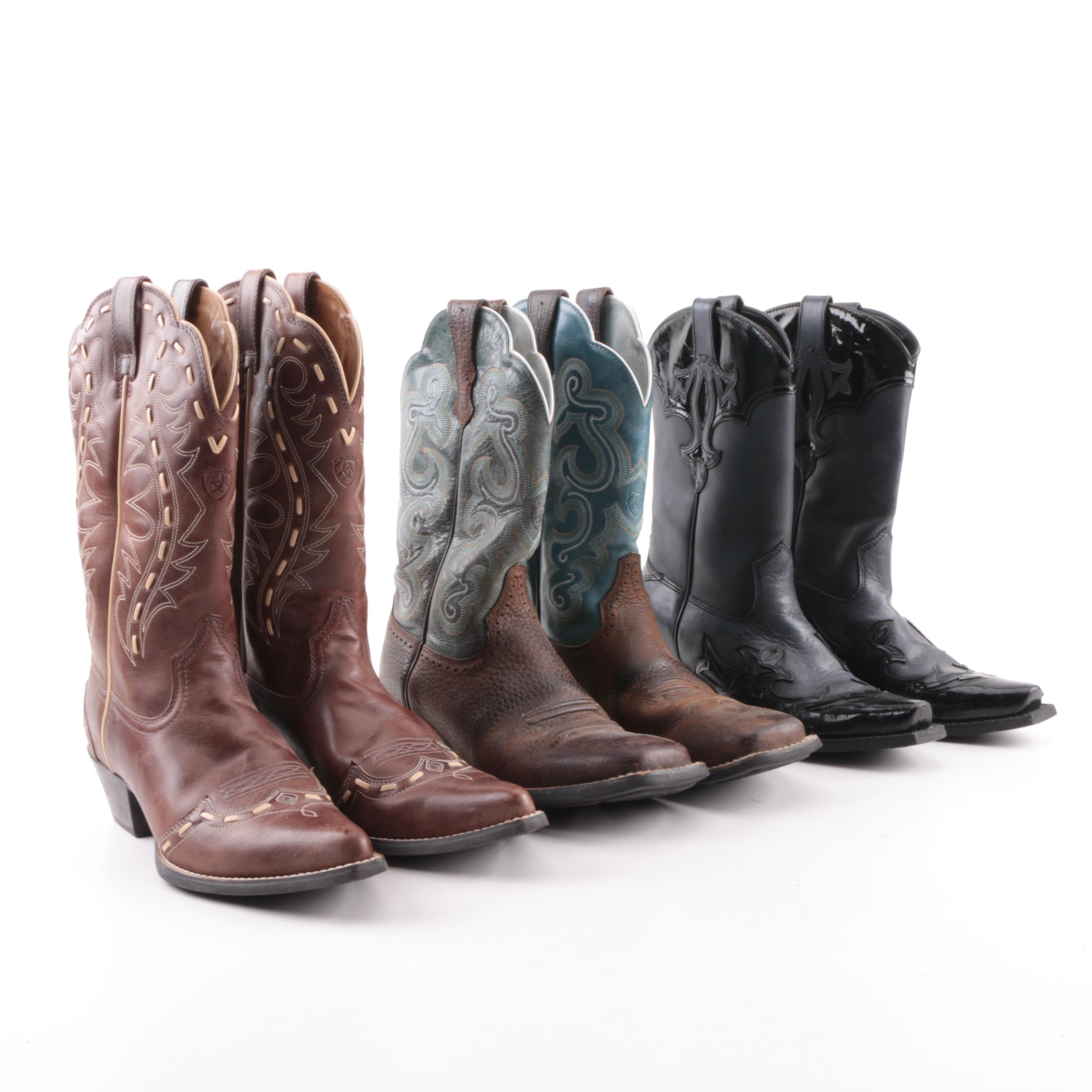 Women's Ariat Leather Western Boots