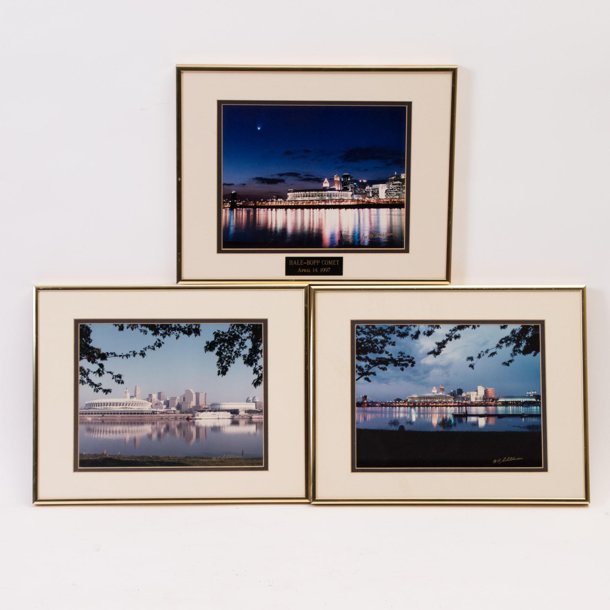 Three W.F. Schildman Photographs of Cincinnati, Ohio
