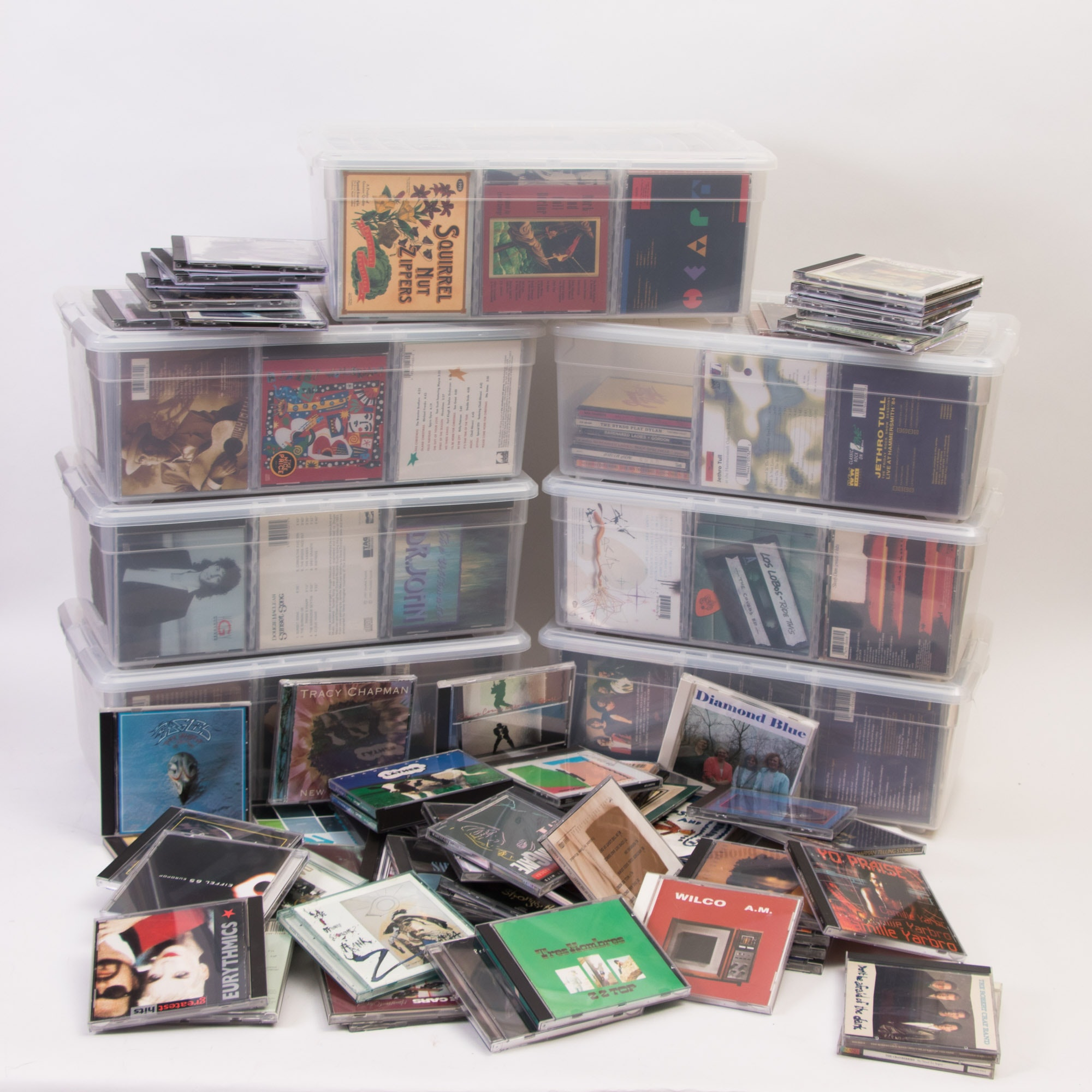 Assortment of CDs