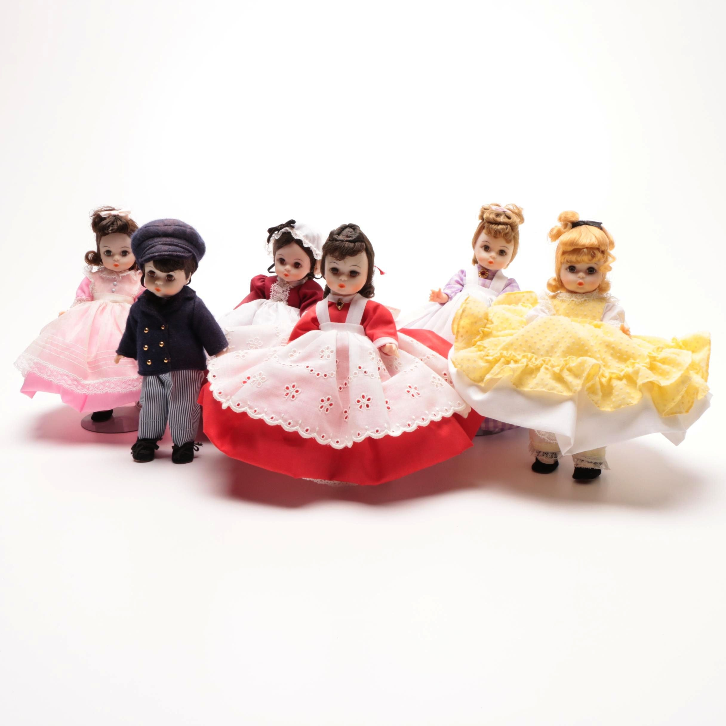 Collection of Madame Alexander Little Women Dolls