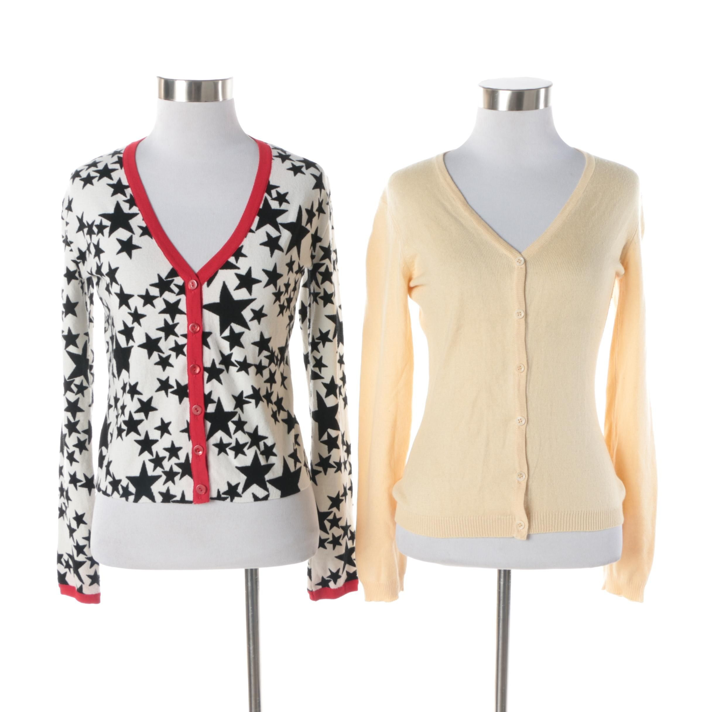 Tocca and Anna Molinari Knit Cardigans