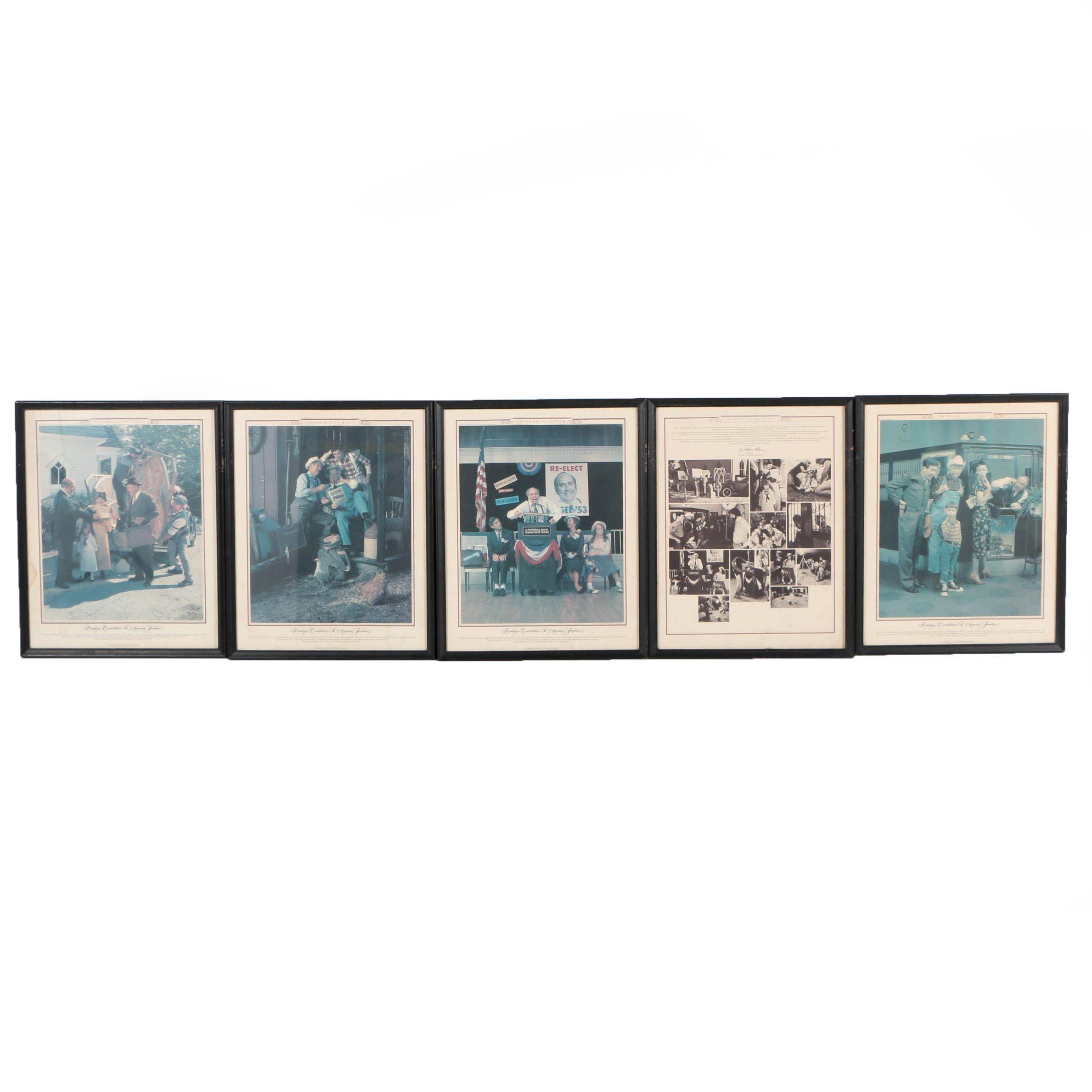 John H. Harland Company Offset Lithographs
