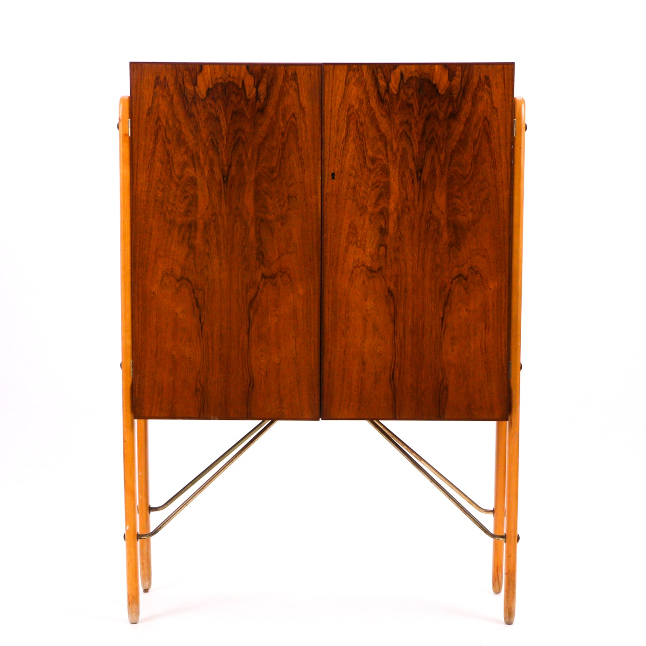 Mid Century Modern Style Bar Cabinet