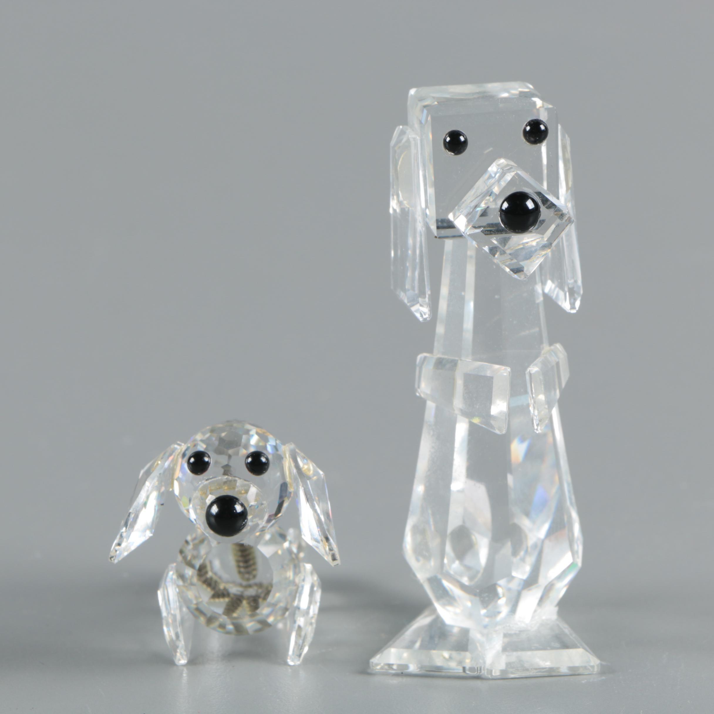 Swarovski Dog Figurines