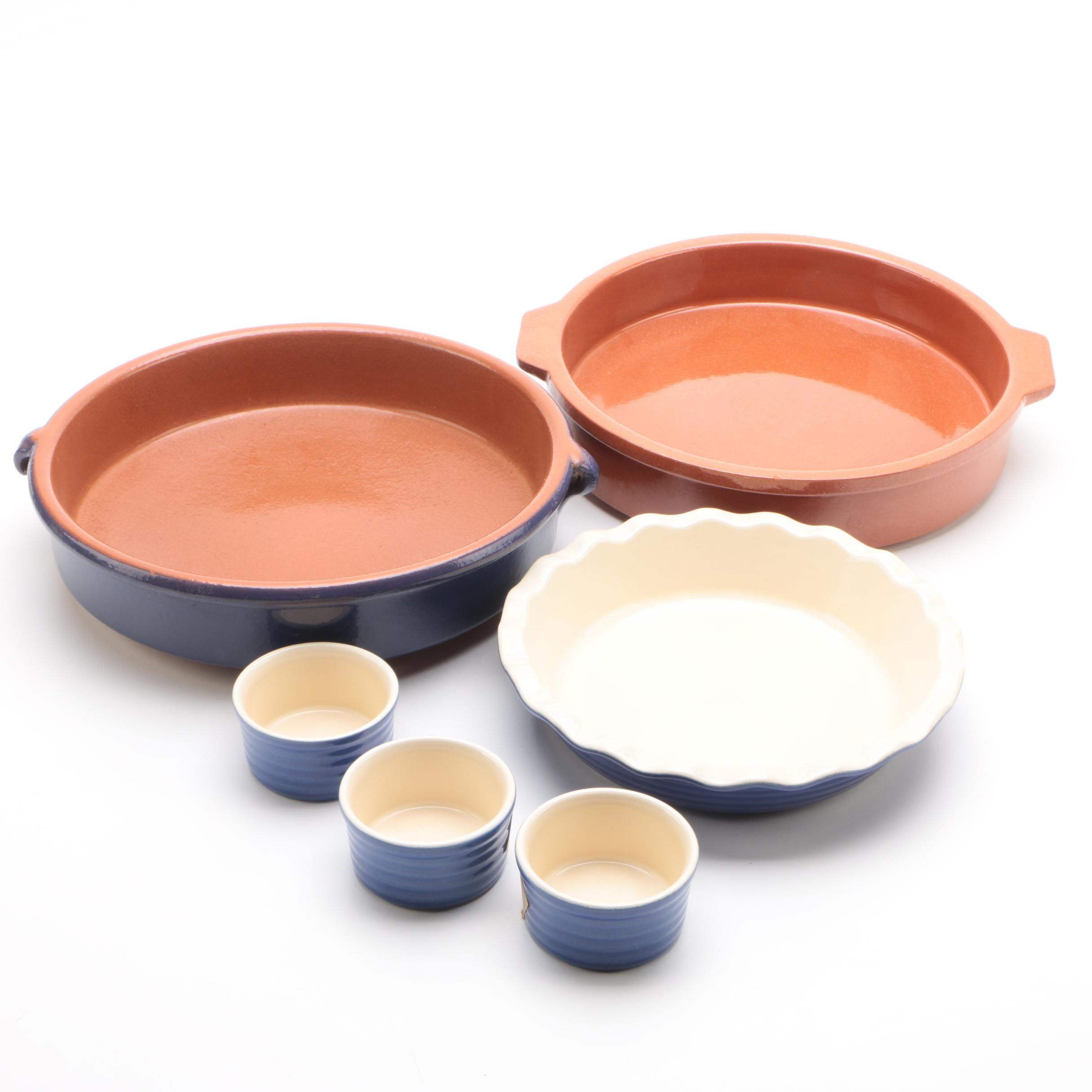 Terracotta and Stoneware Baking Dishes featuring Emile Henry