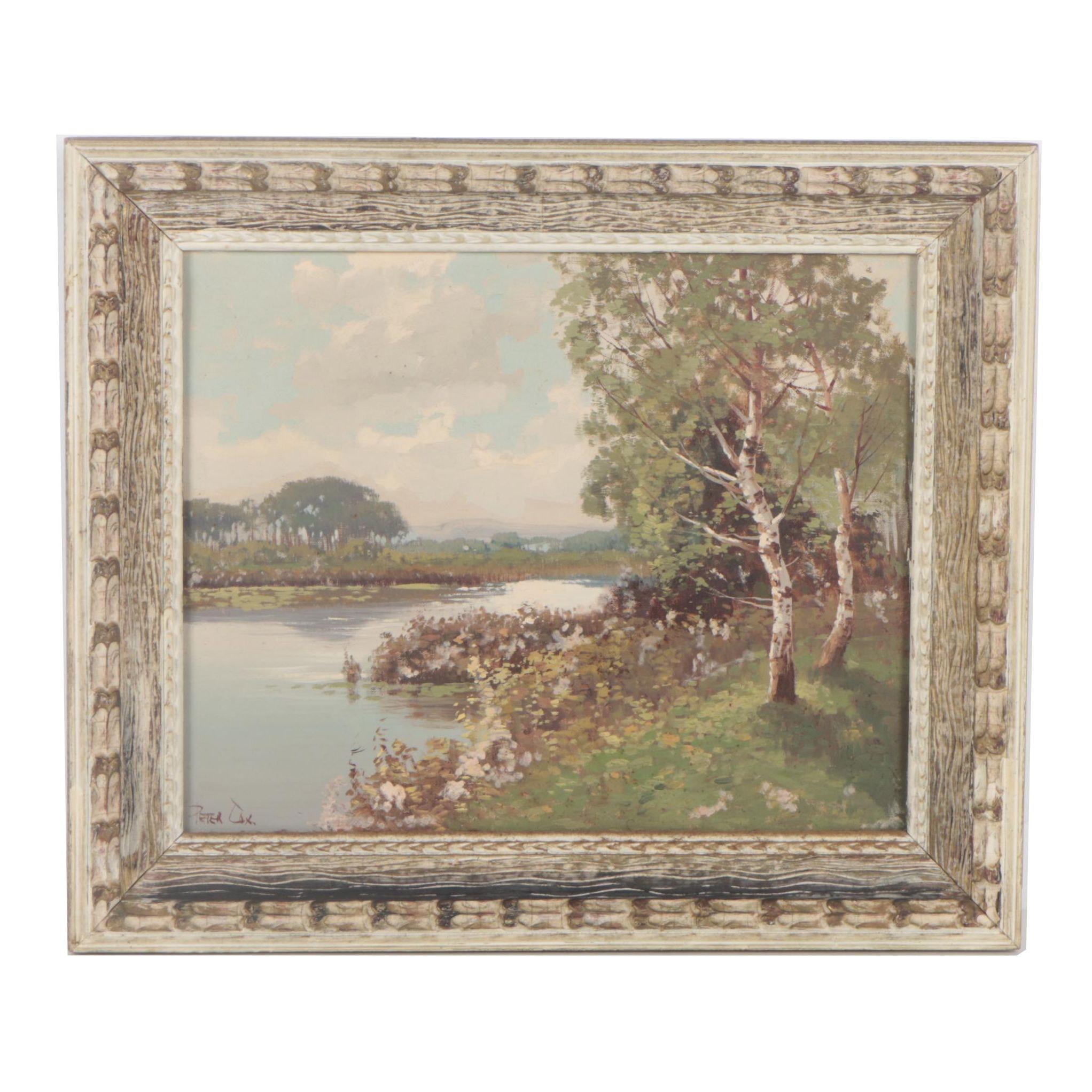 Peter Cox Landscape Oil Painting
