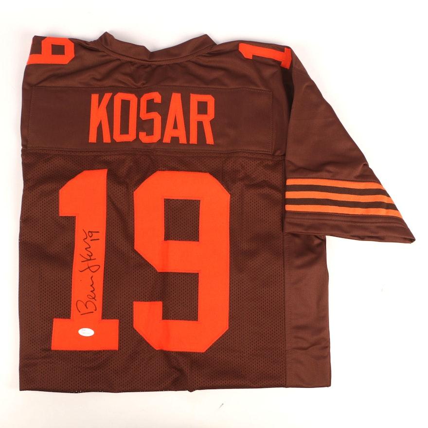 best service 9a2bd 23cdc Bernie Kosar Autographed Cleveland Browns Jersey - JSA COA