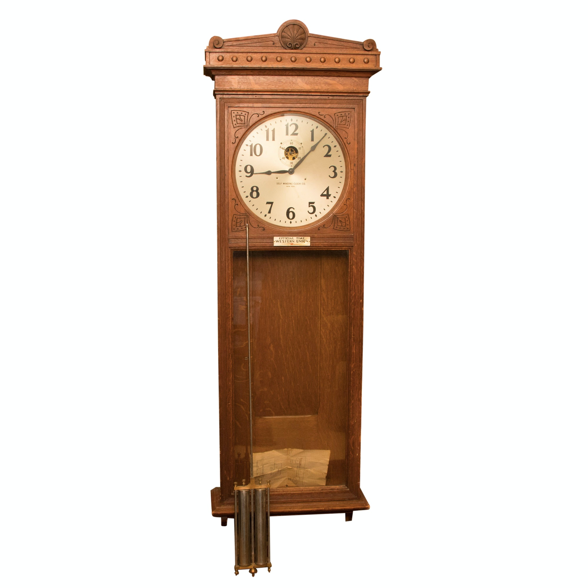 Self Winding Clock Company Clock