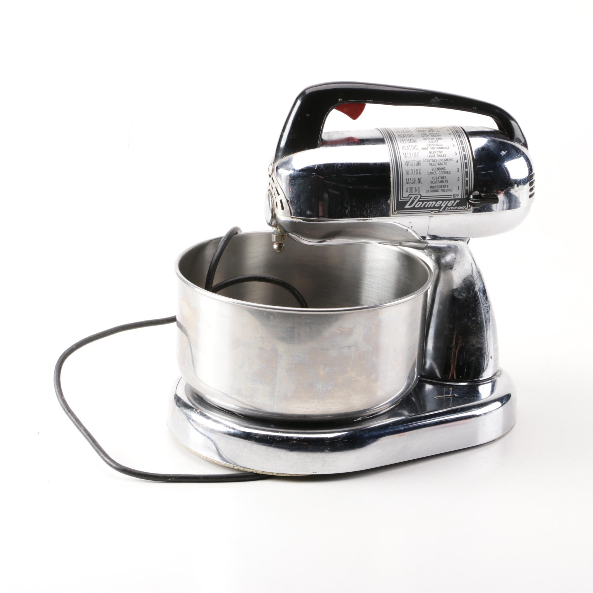 "Vintage Dormeyer ""Silver Chef"" Mixer 4300"