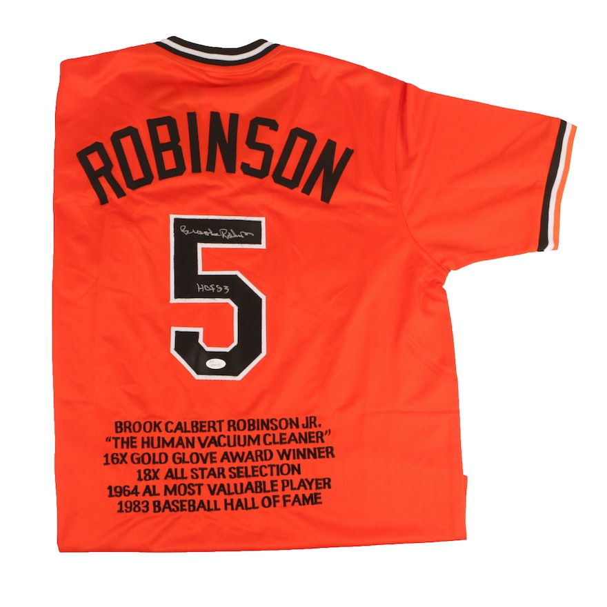db7c4e37a Brooks Robinson Baltimore Orioles Commemorative Baseball Jersey - JSA COA    EBTH