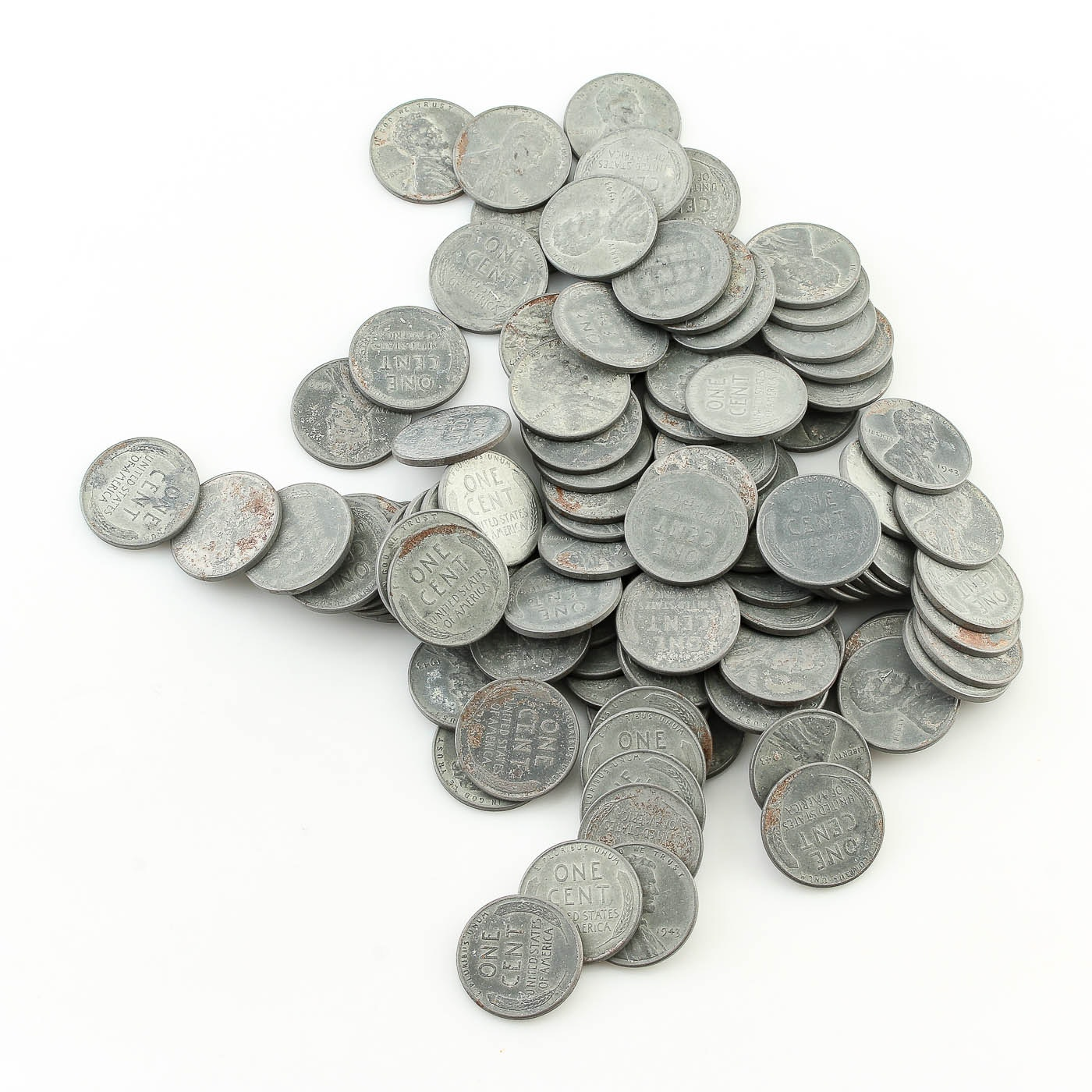 Collection of 1943 Steel Cents