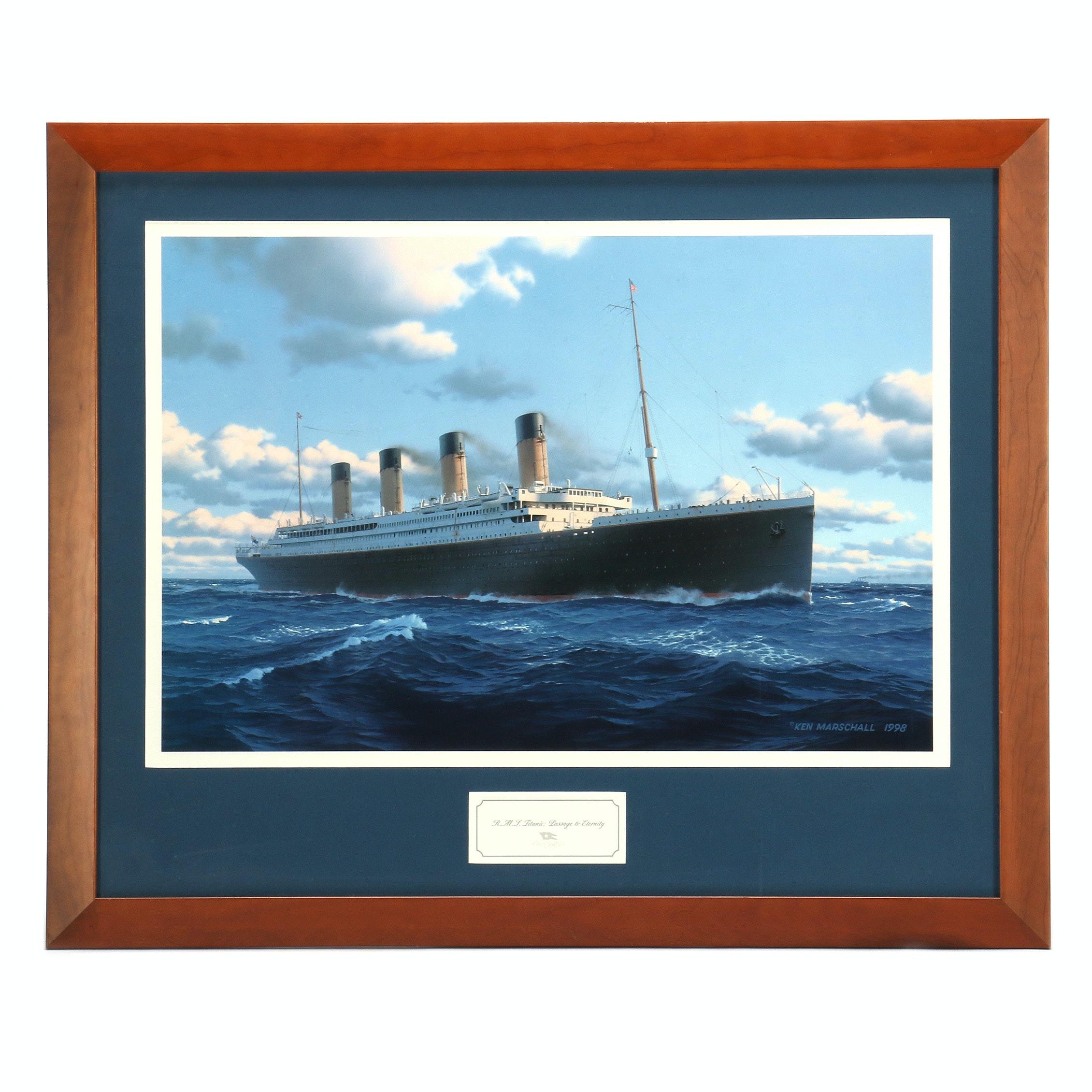 "Ken Marschall Limited Edition Print ""R.M.S. Titanic: Passage to Eternity"""