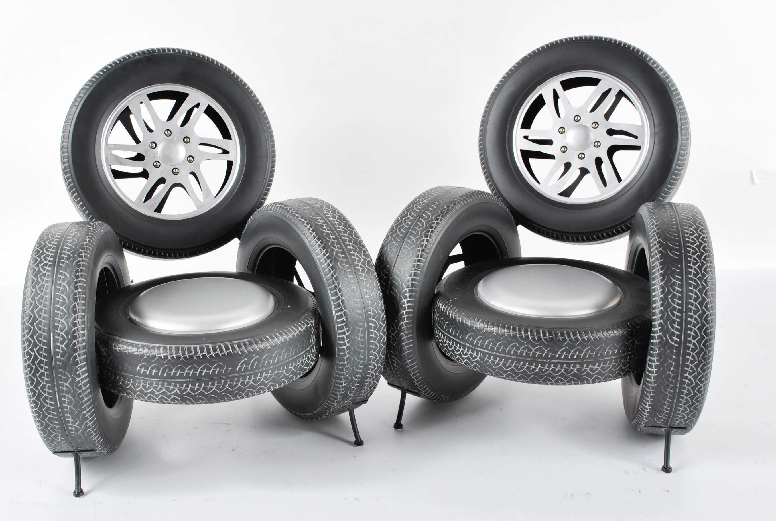 Novelty Tire Chairs