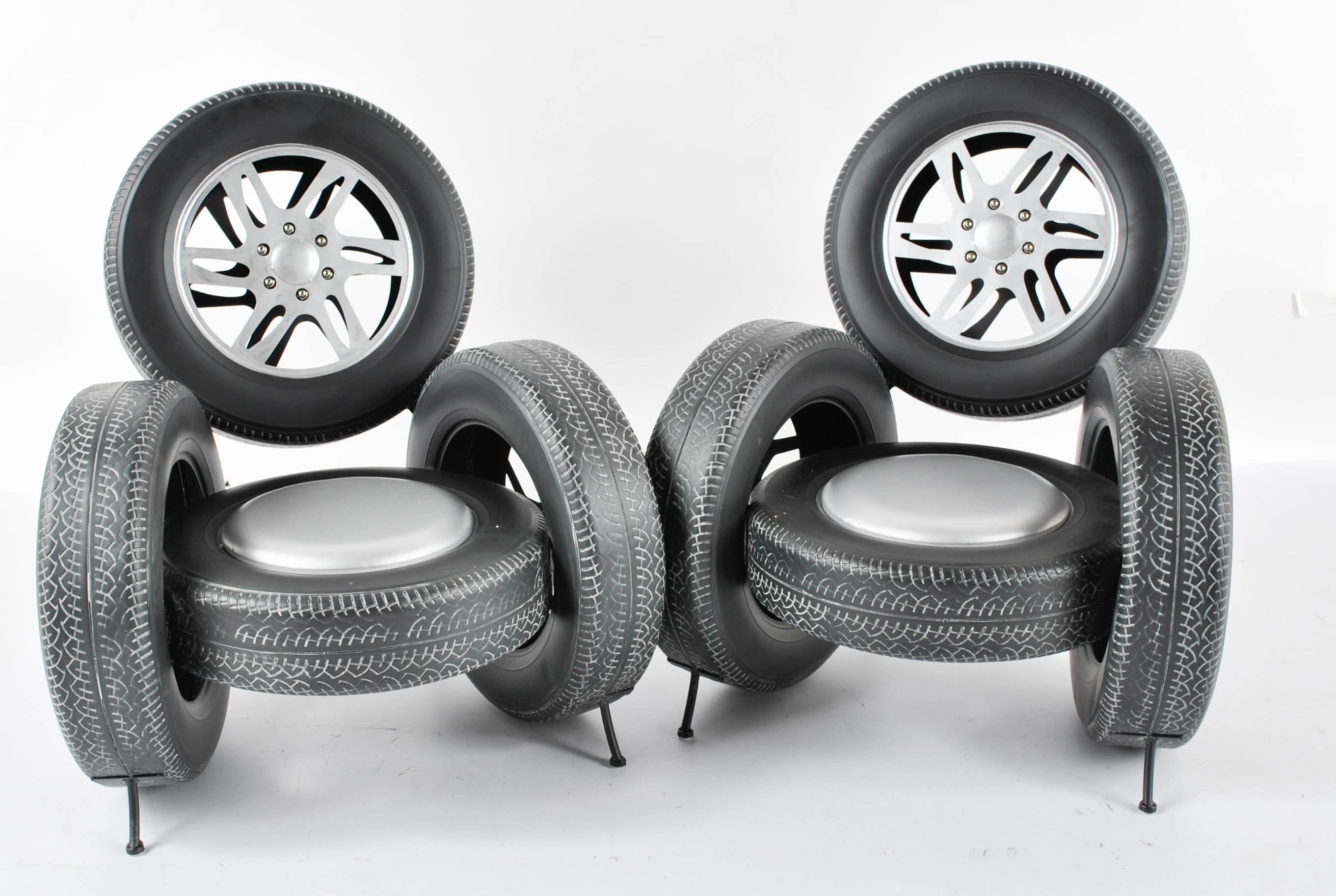 Merveilleux Novelty Tire Chairs ...