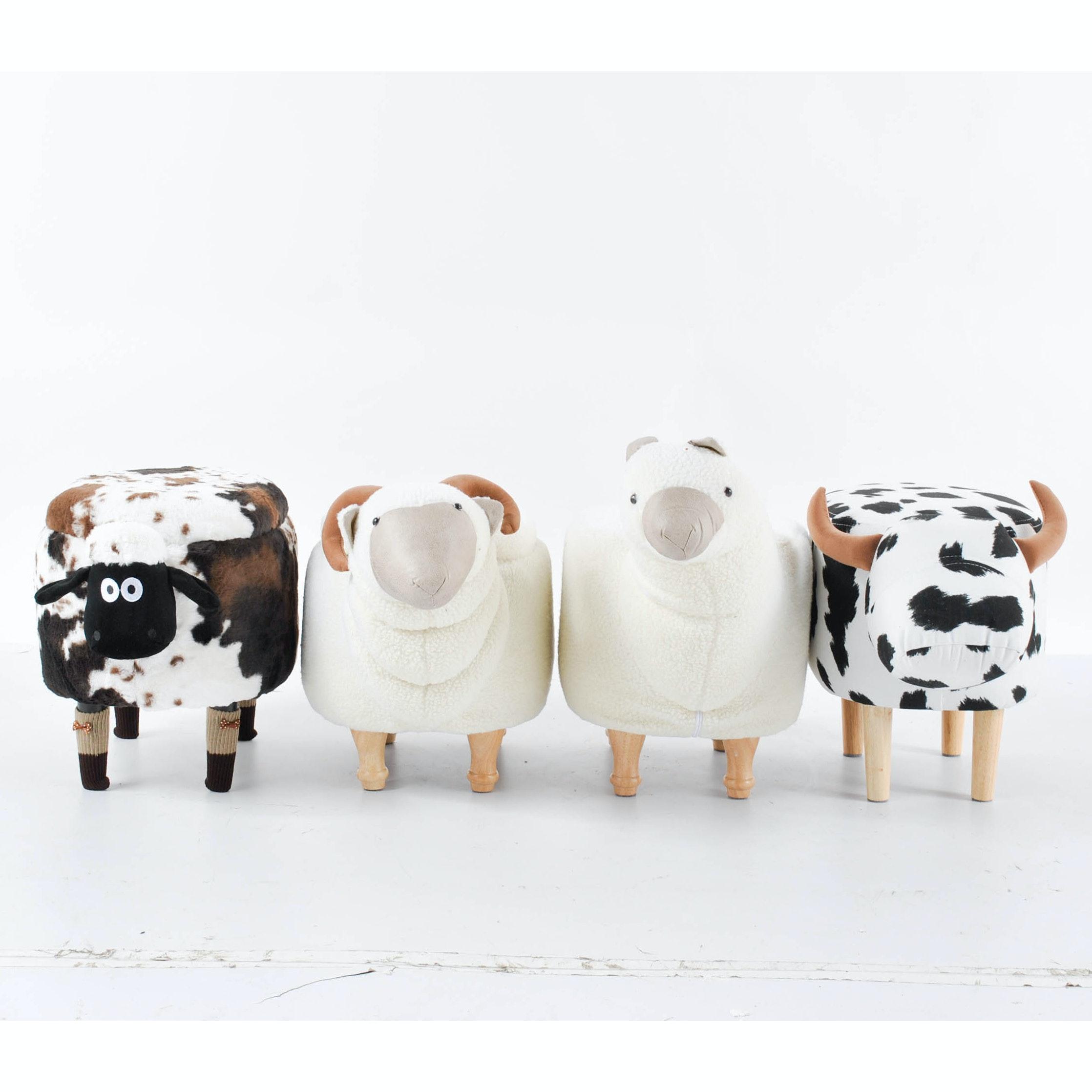 Novelty Farm Animal Ottomans
