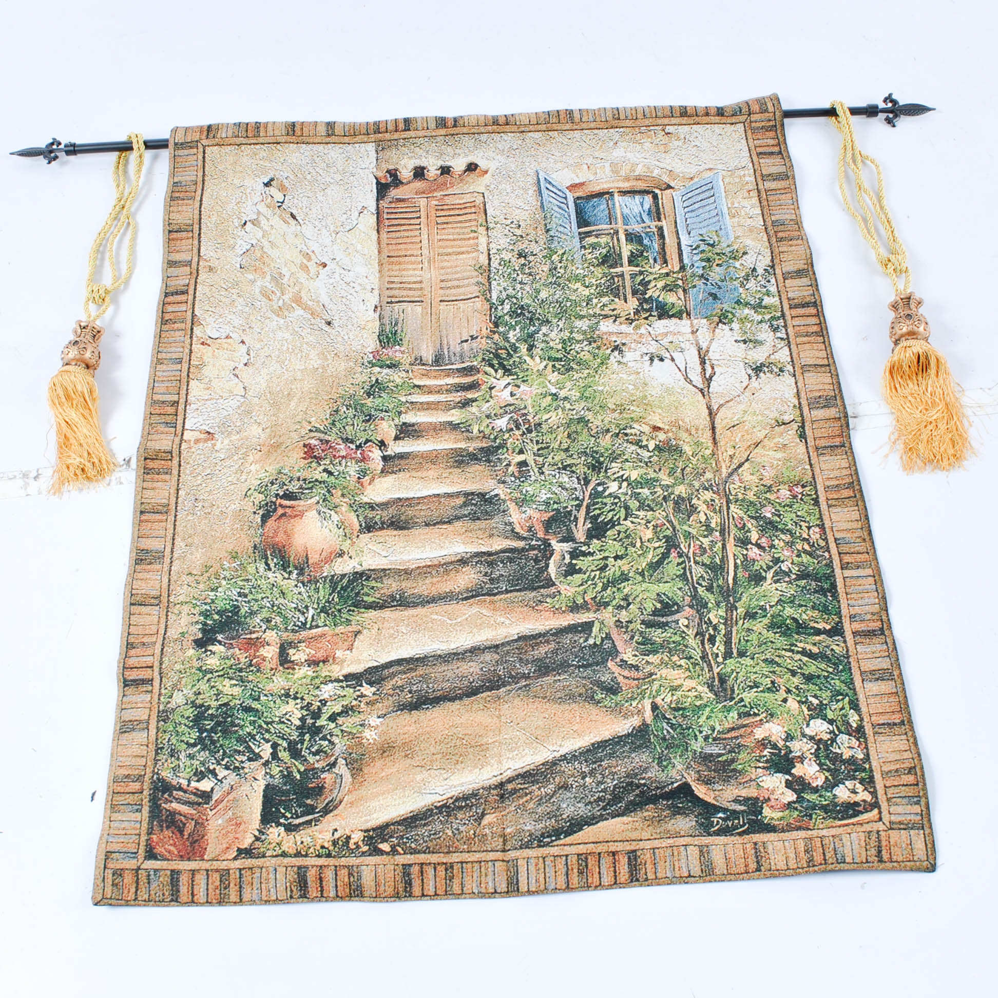 Machine Made Entry Stairway Tapestry