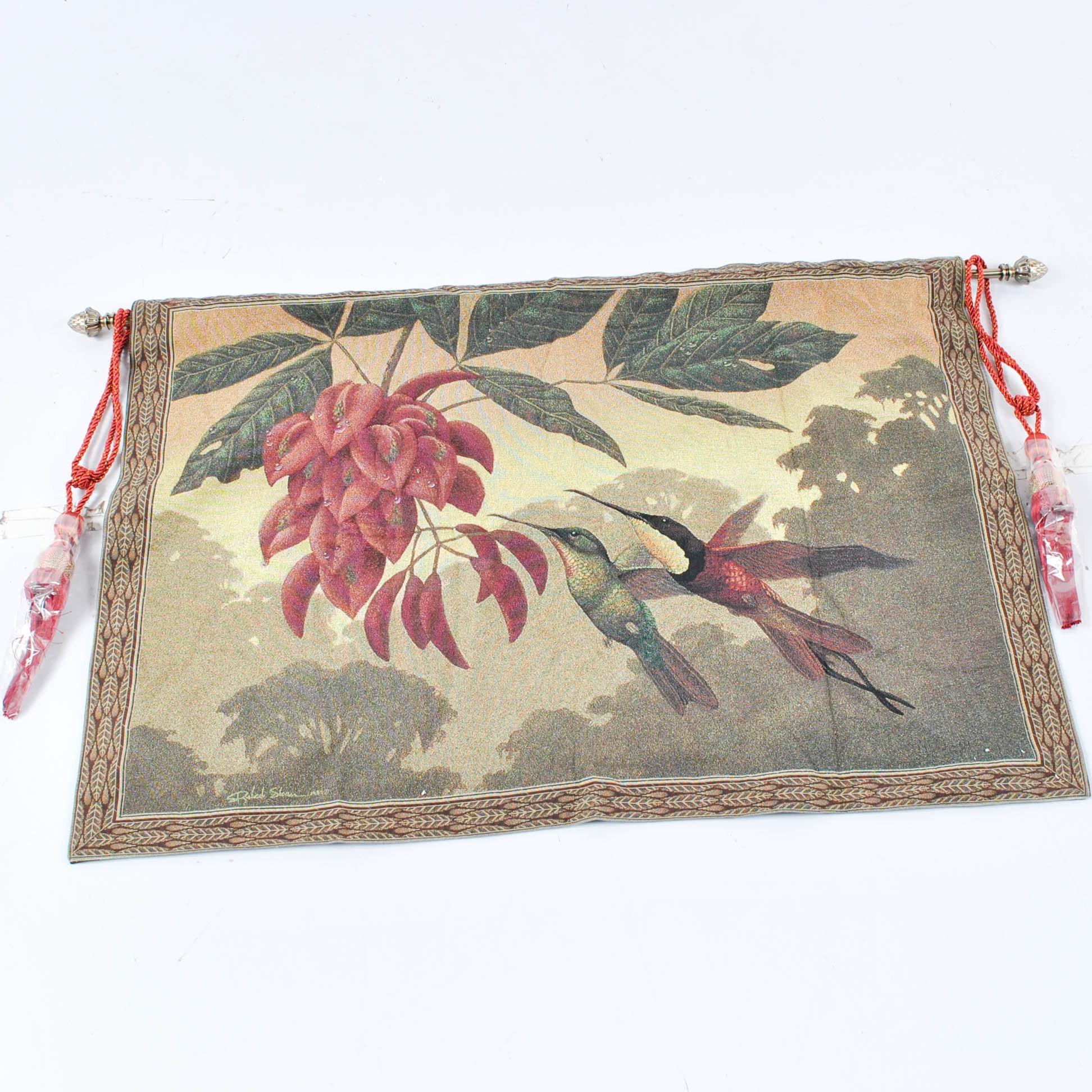 Machine Made Hummingbirds Tapestry