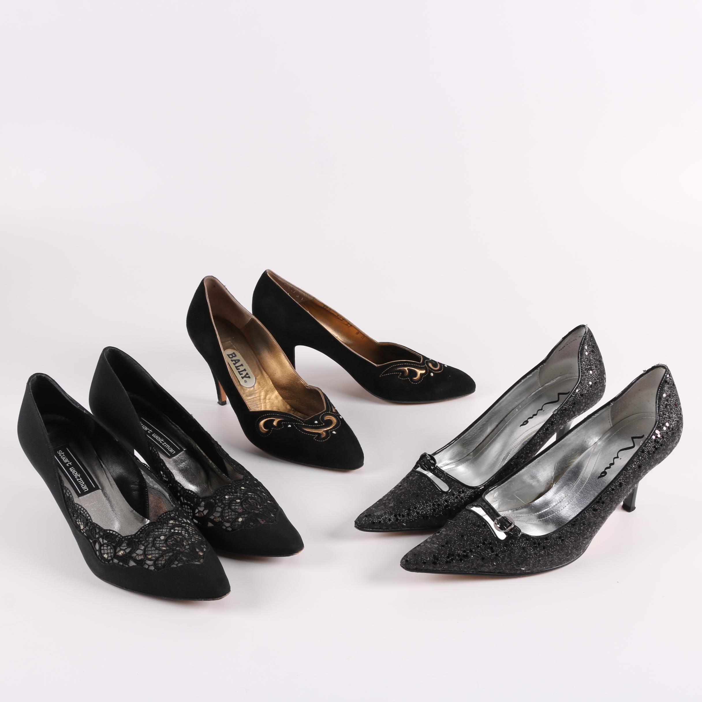 Stuart Weitzman, Bally and Nina High-Heeled Dress Shoes