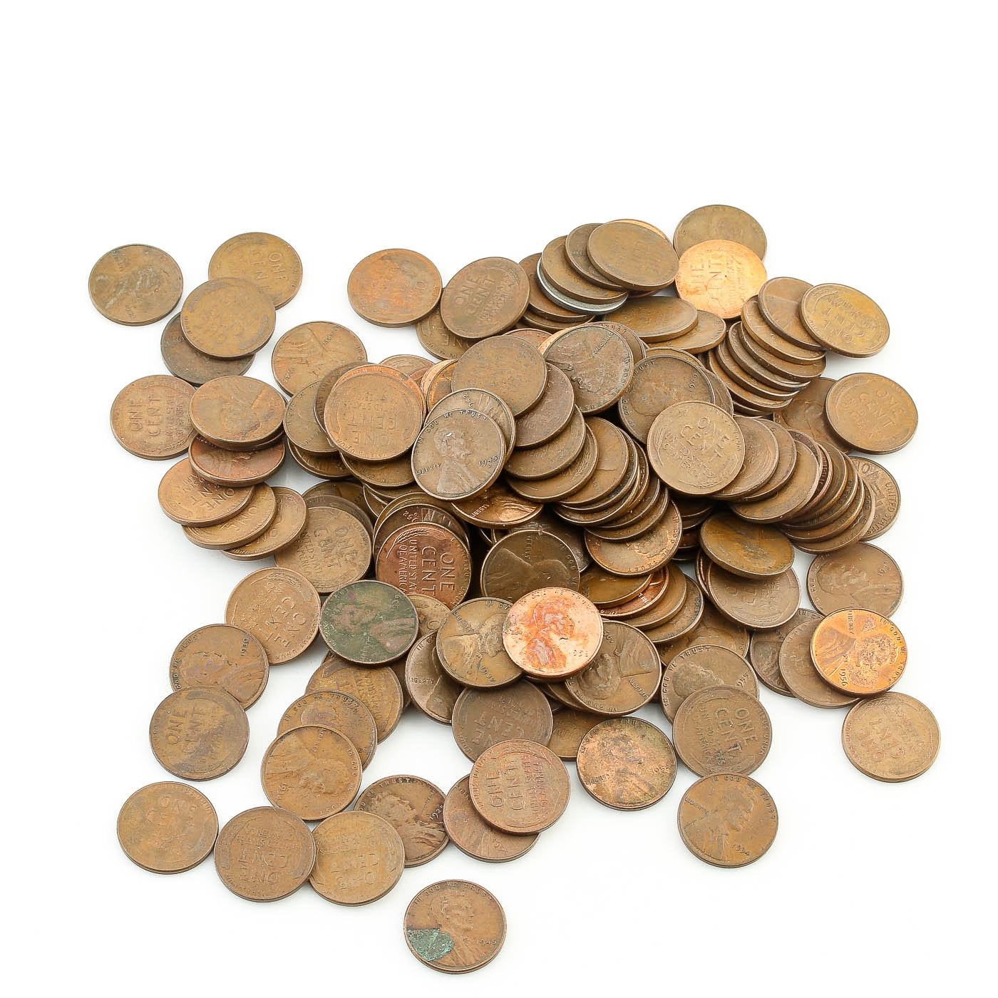 179 Lincoln Wheat Cents