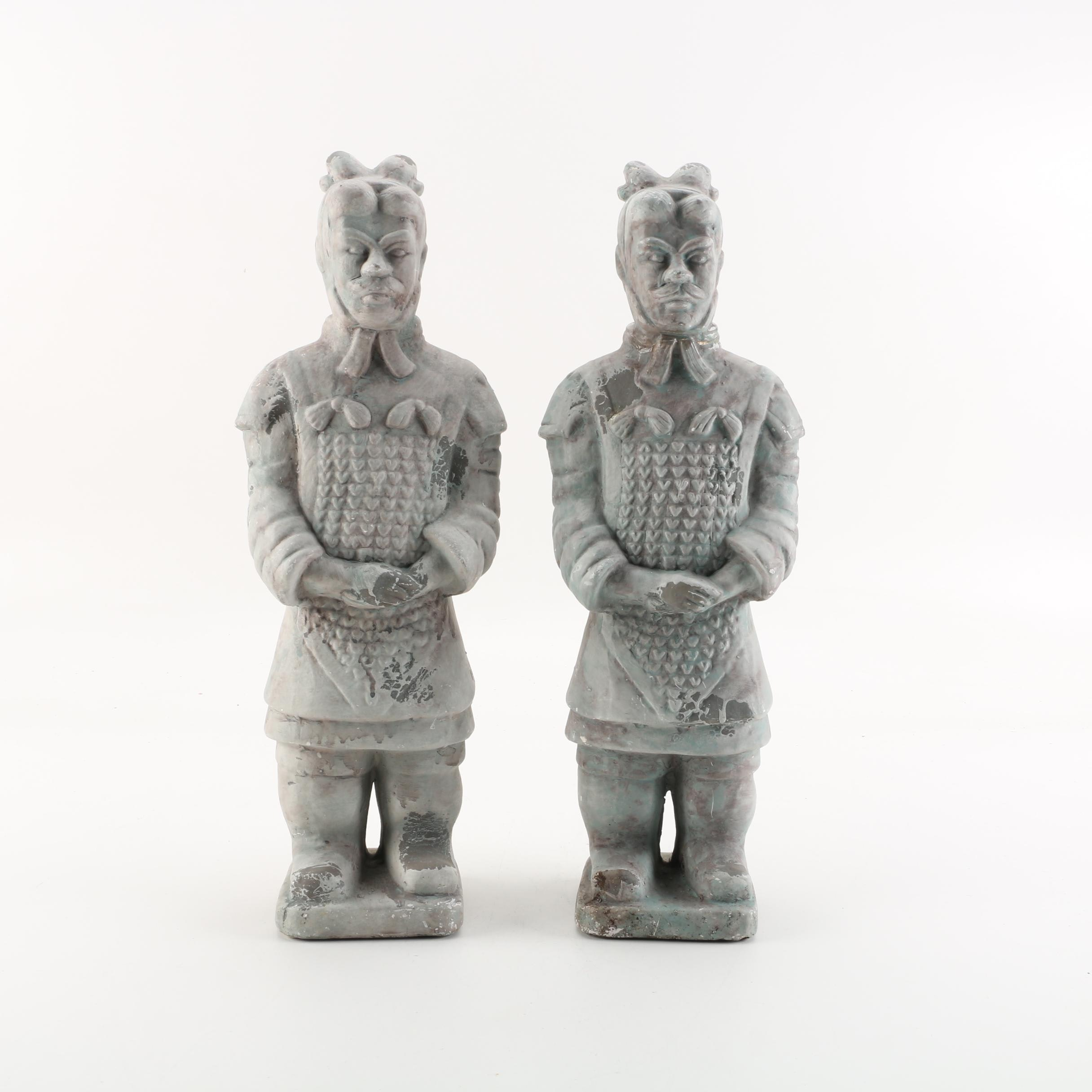 Replica Chinese Terracotta Warrior Figurines