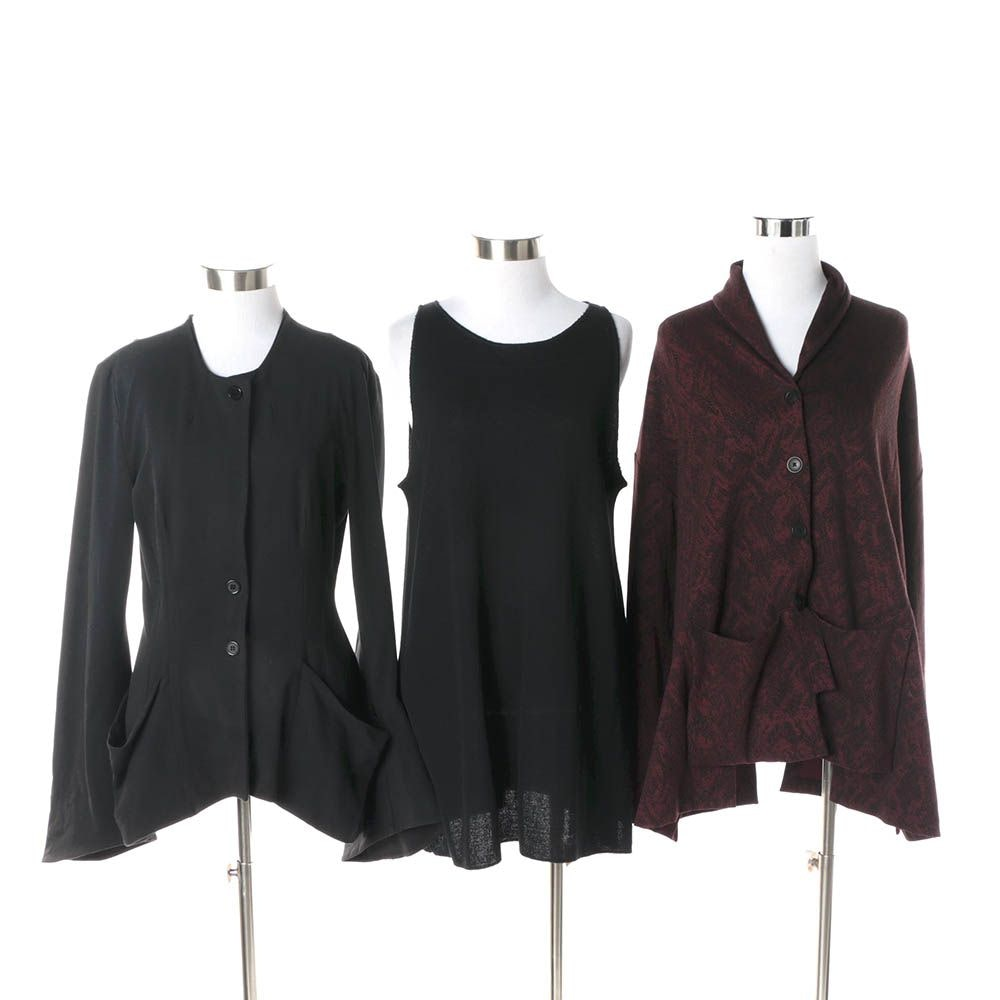 Women's Tunic and Jackets Including Sarah Pacini, Spirithouse,  and Elm Design