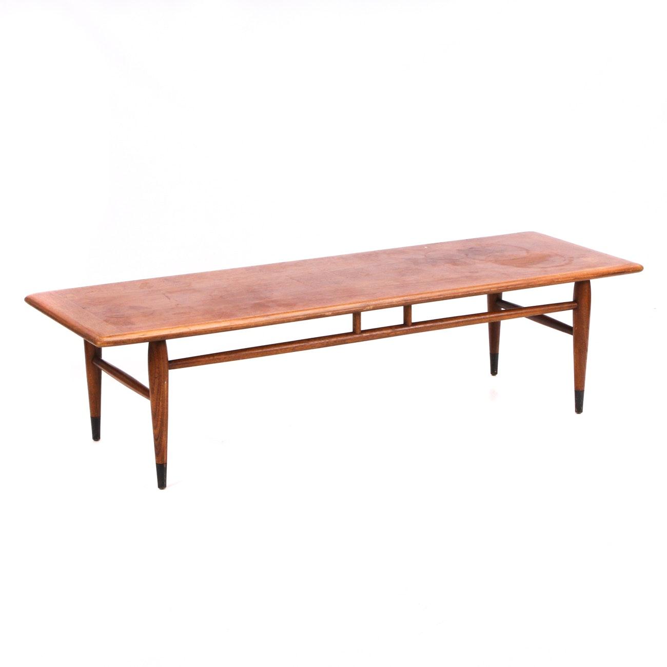 "Lane ""Acclaim"" Walnut Coffee Table"