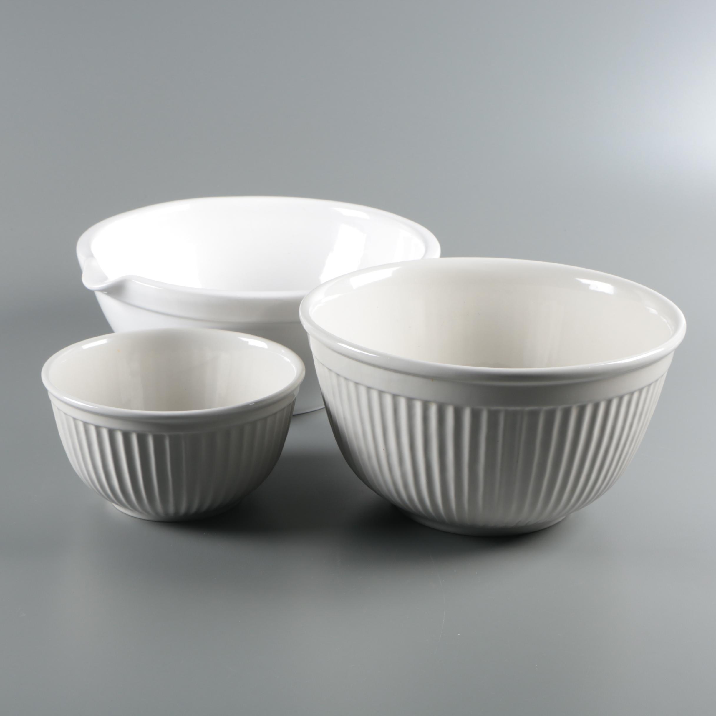 Williams-Sonoma Ceramic Mixing Bowls