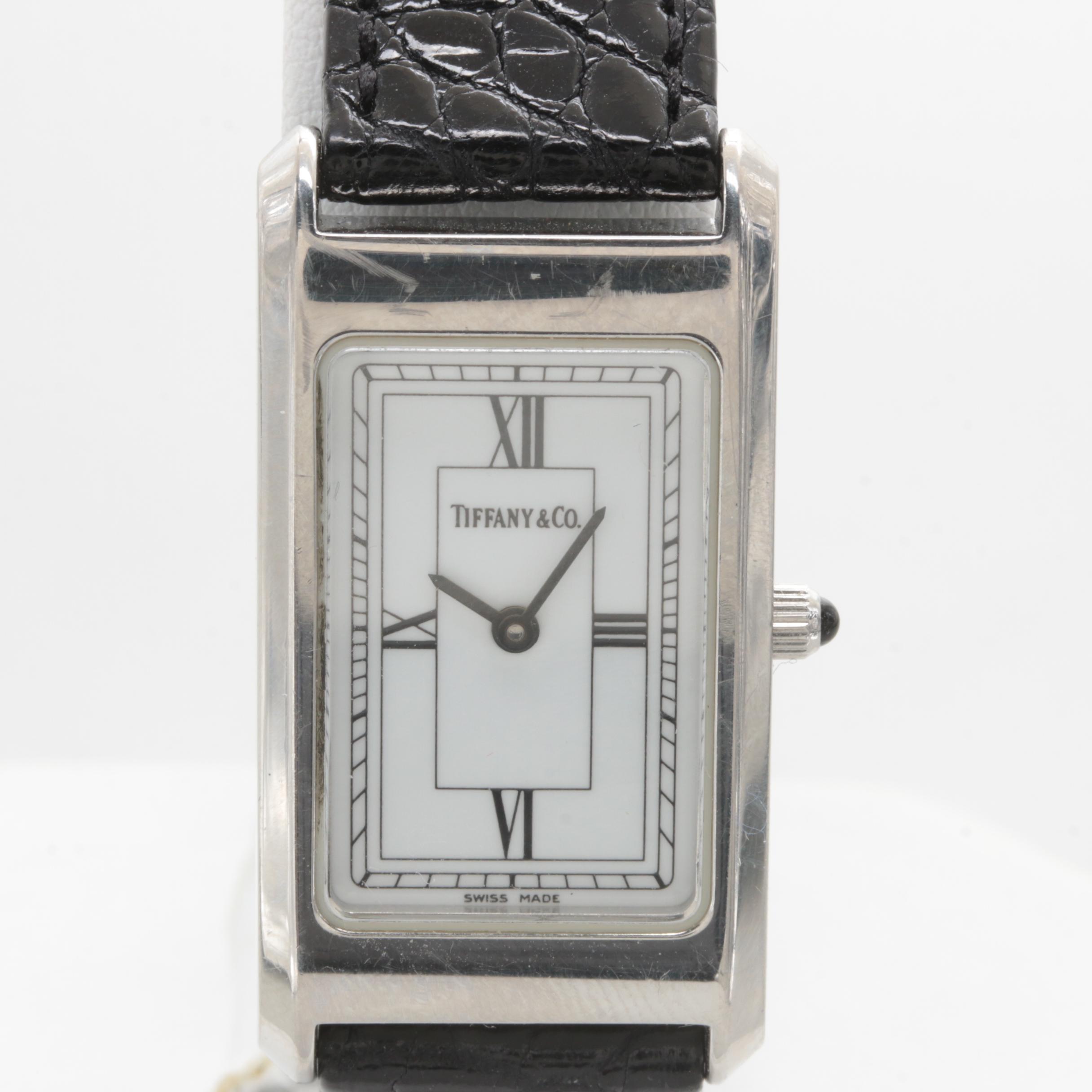 Tiffany & Co. Stainless Steel Wristwatch