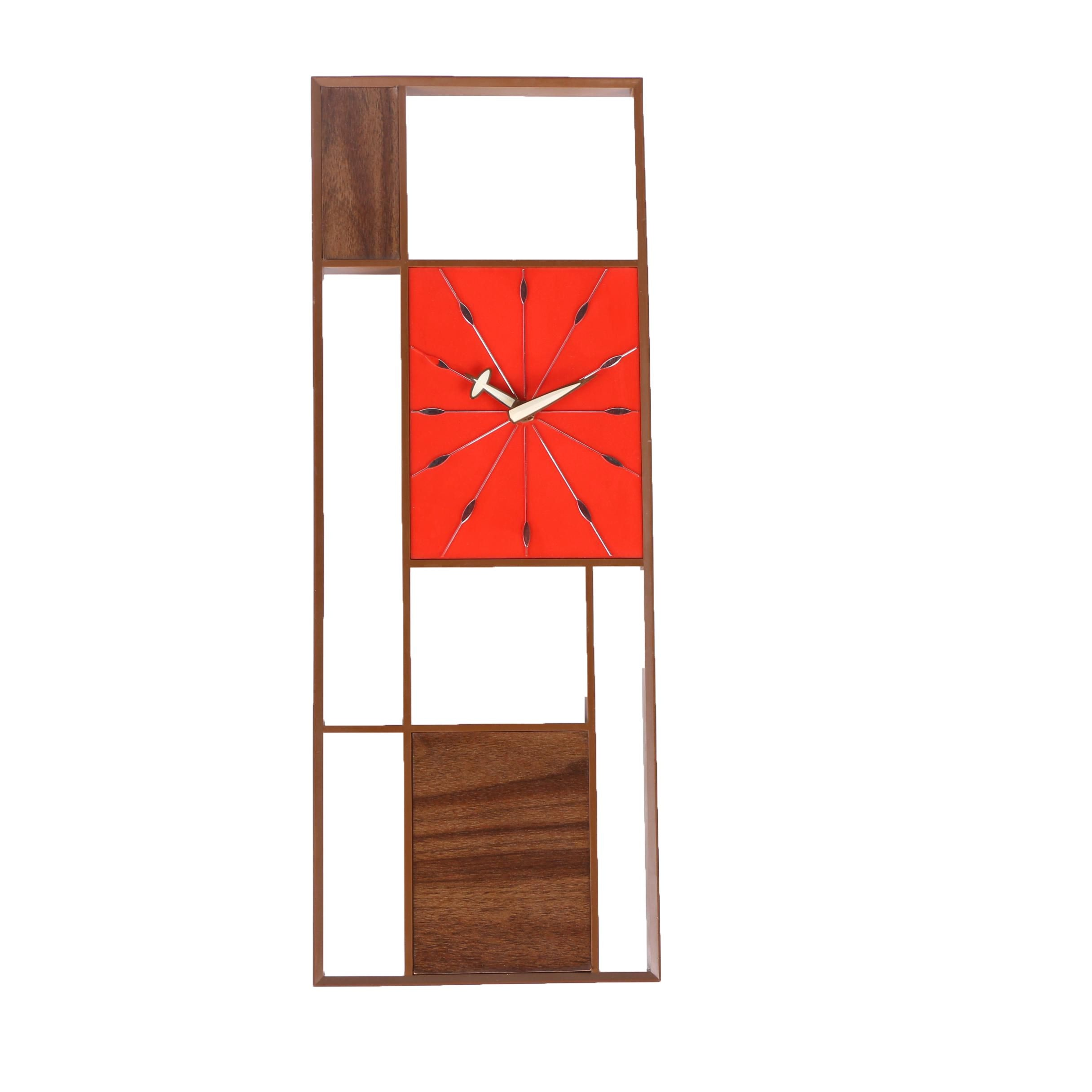 Mid-Century Modern Sunbeam Corp. Electric Wall Clock