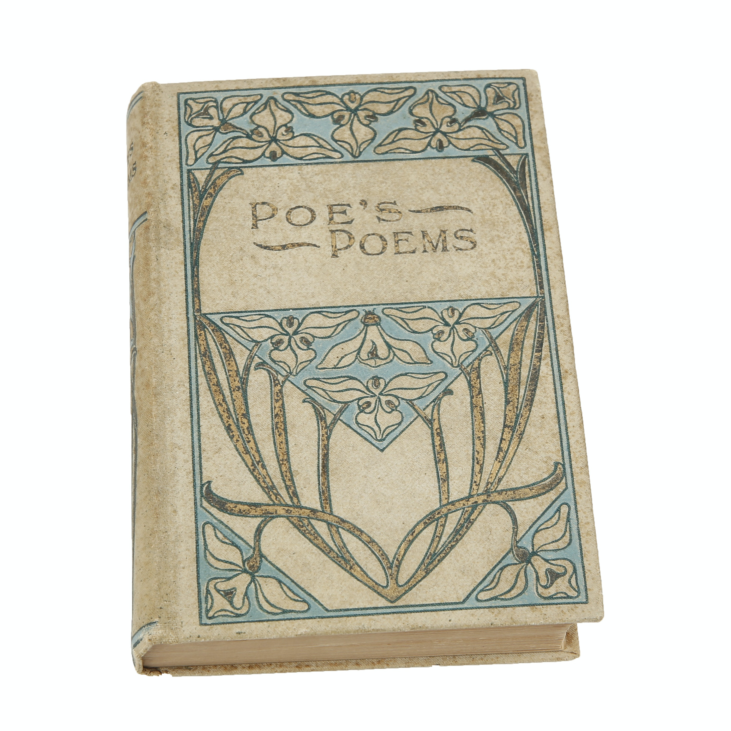 "Vintage ""Poe's Poems"" Published by M. A. Donohue & Co."