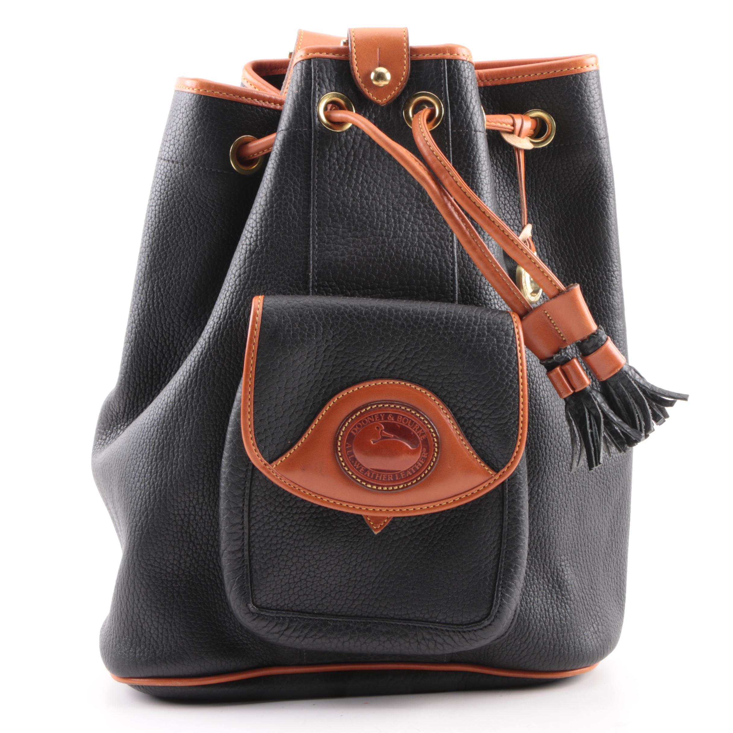 Dooney & Bourke All-Weather Leather Bucket Bag