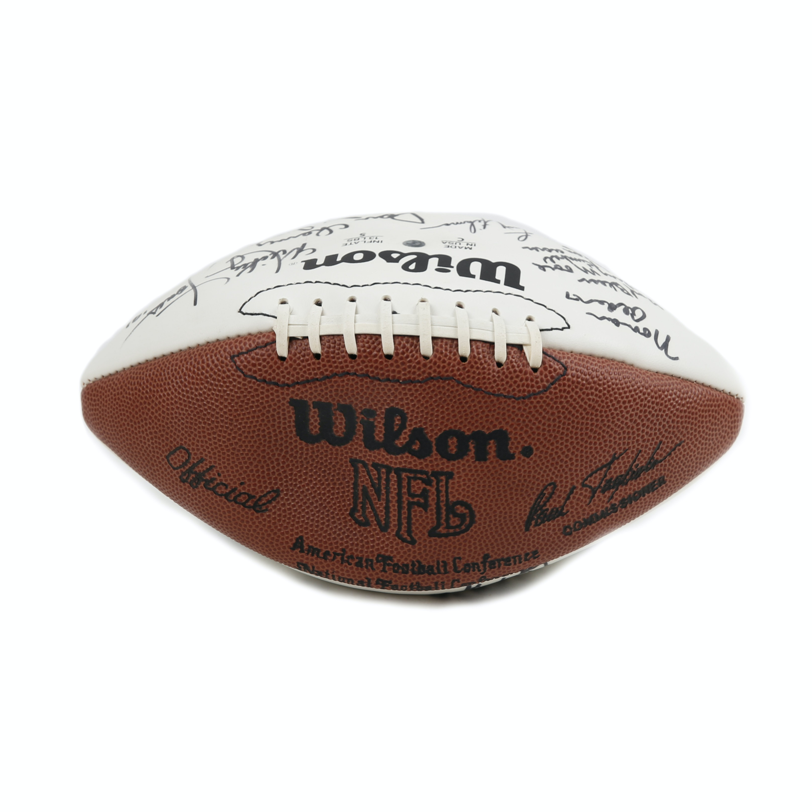 Early 1990s Multi-Autographed Dallas Cowboys Football
